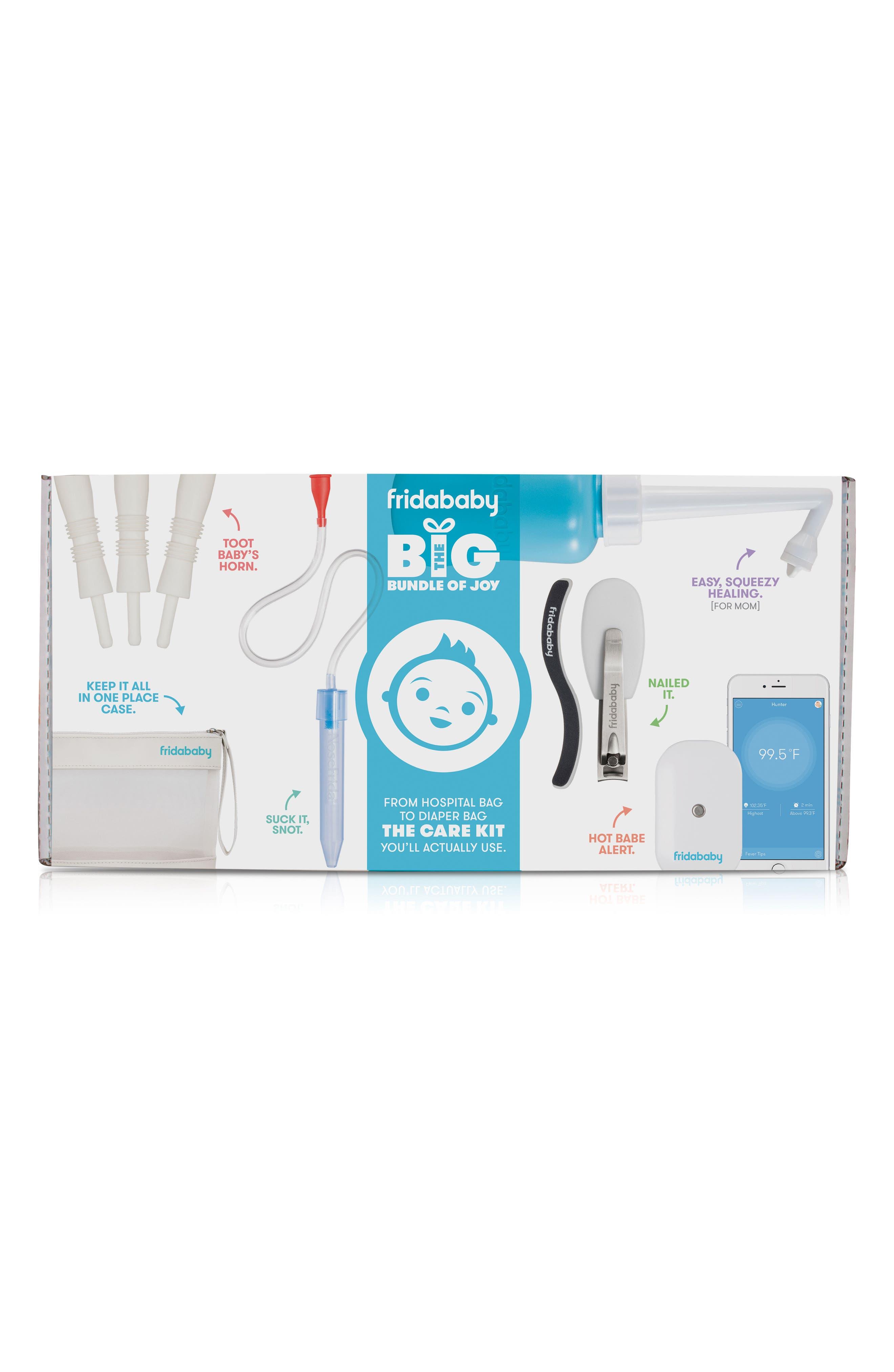 The Big Bundle Of Joy Newborn Care Kit,                             Alternate thumbnail 3, color,                             White