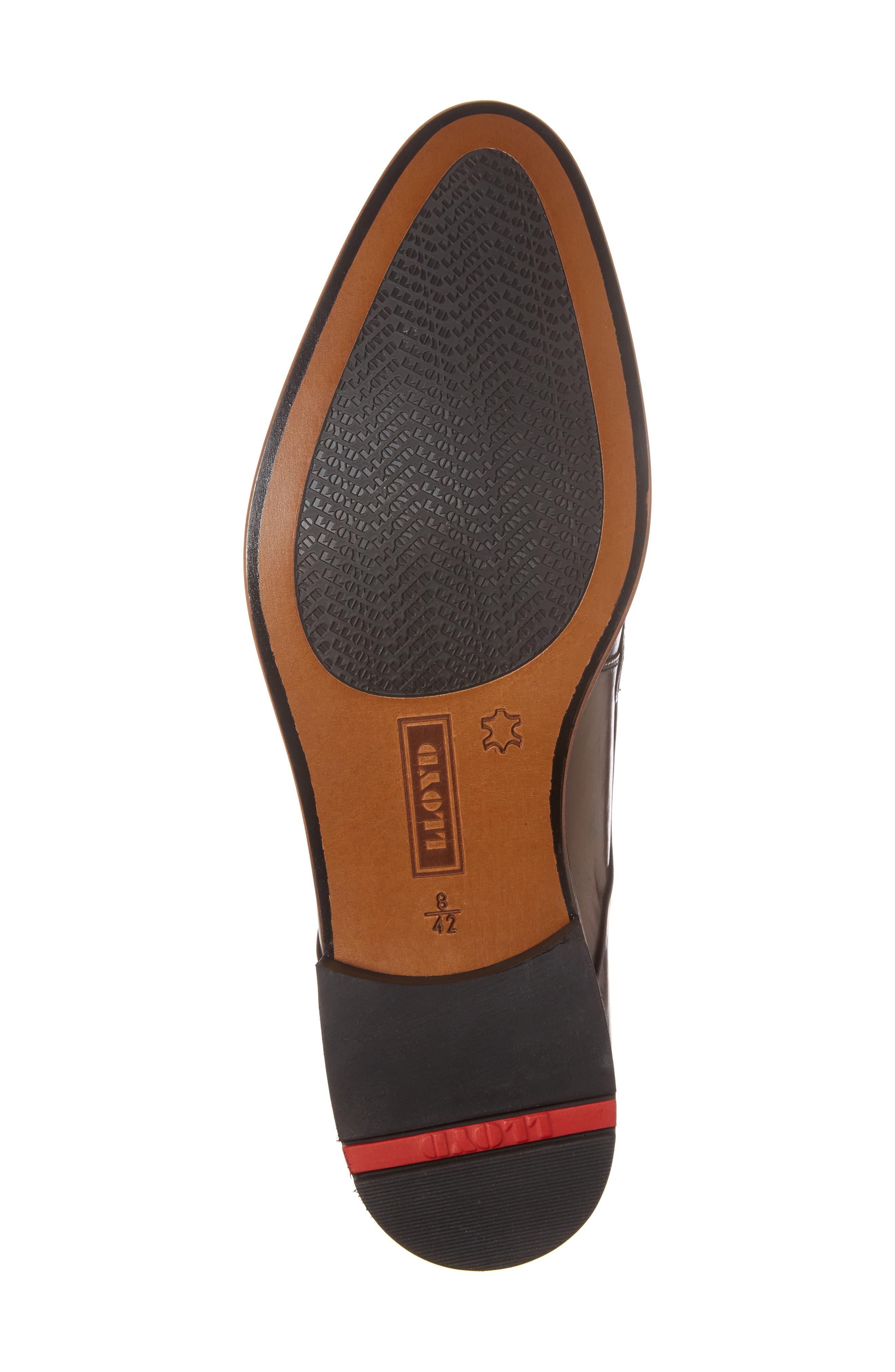 Mannex Plain Toe Derby,                             Alternate thumbnail 6, color,                             T.D.Moro Leather