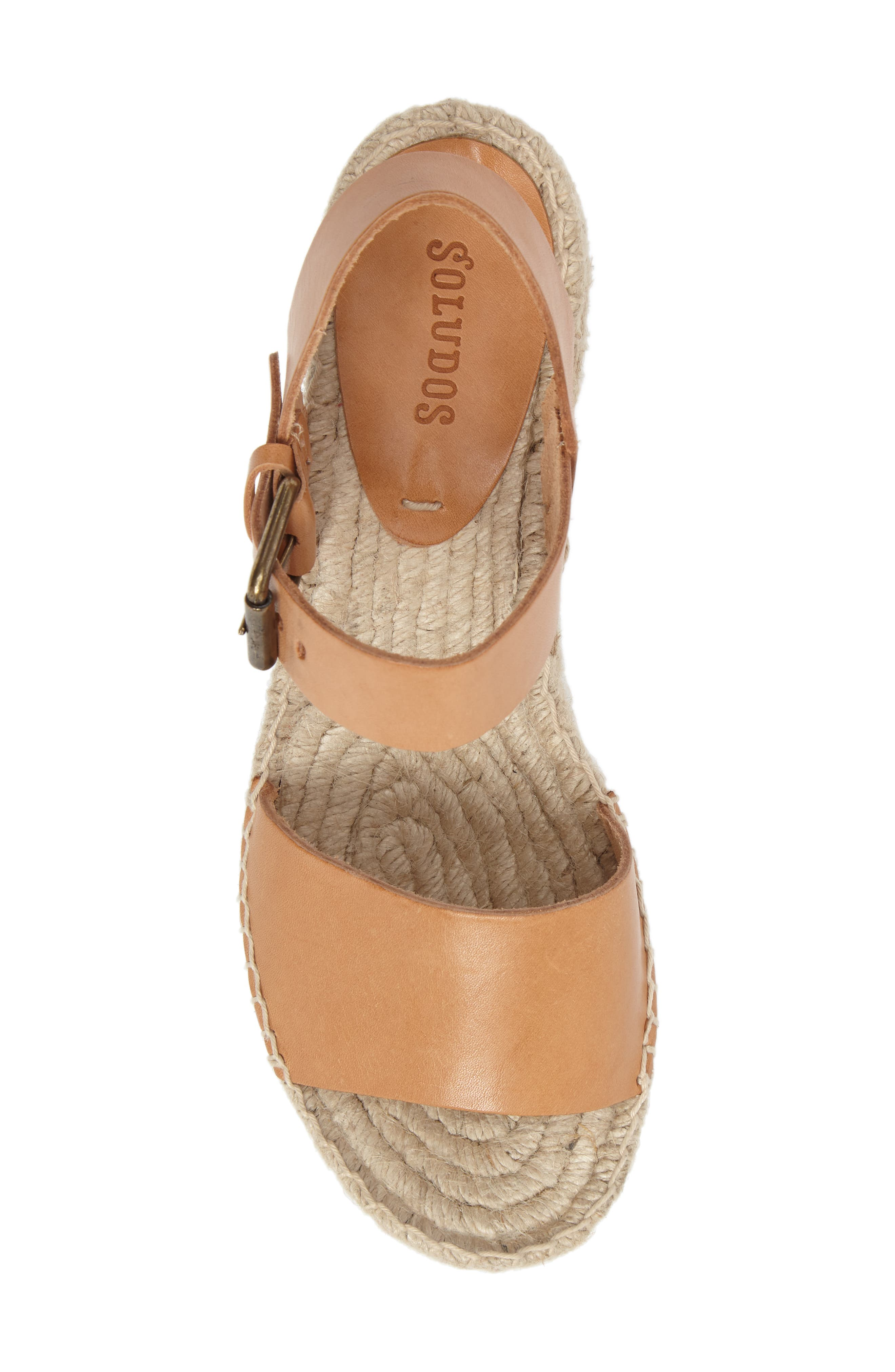 Alternate Image 5  - Soludos Platform Wedge Sandal (Women)