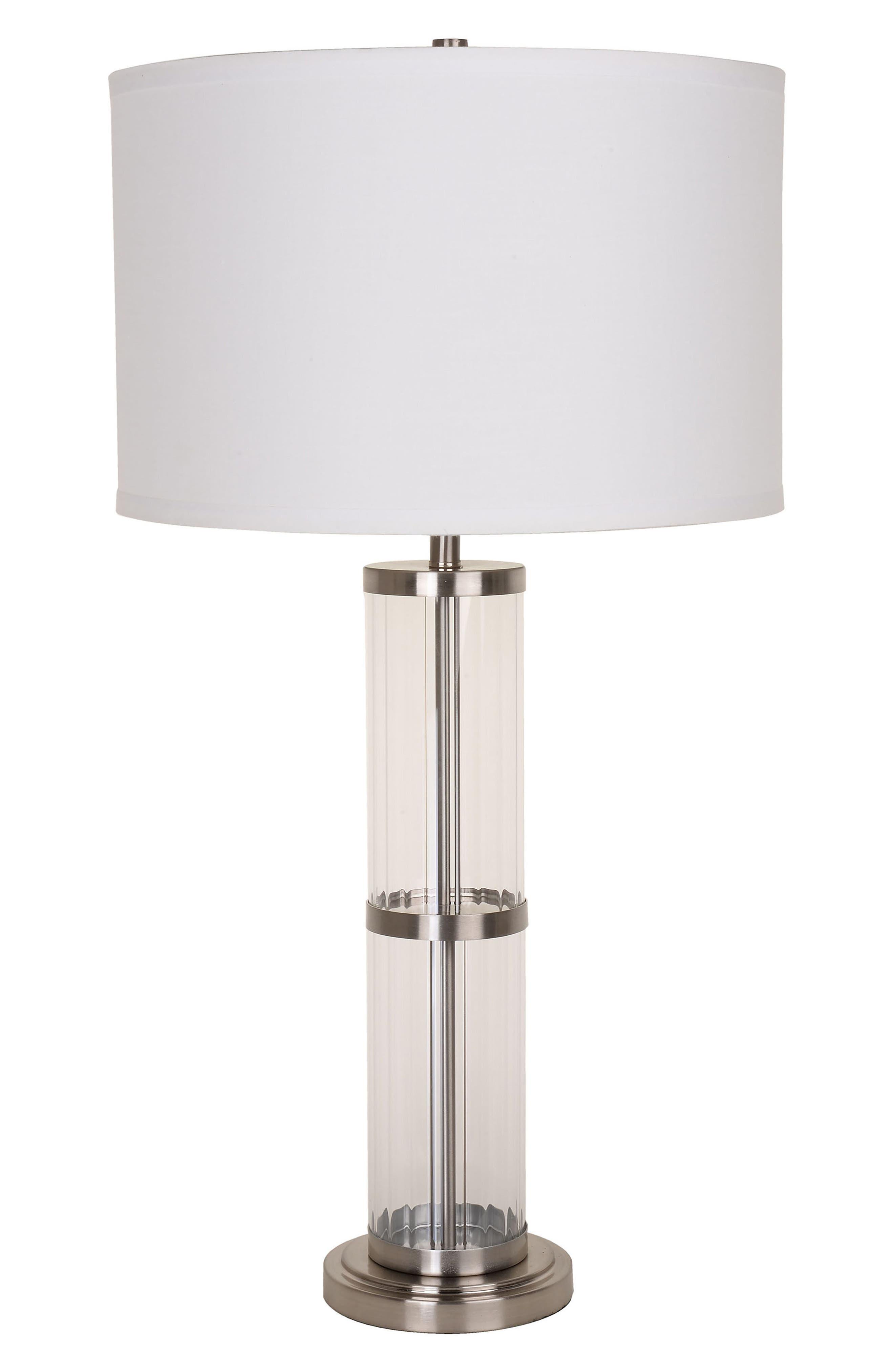 Main Image - JAlexander Ribbed Glass Table Lamp