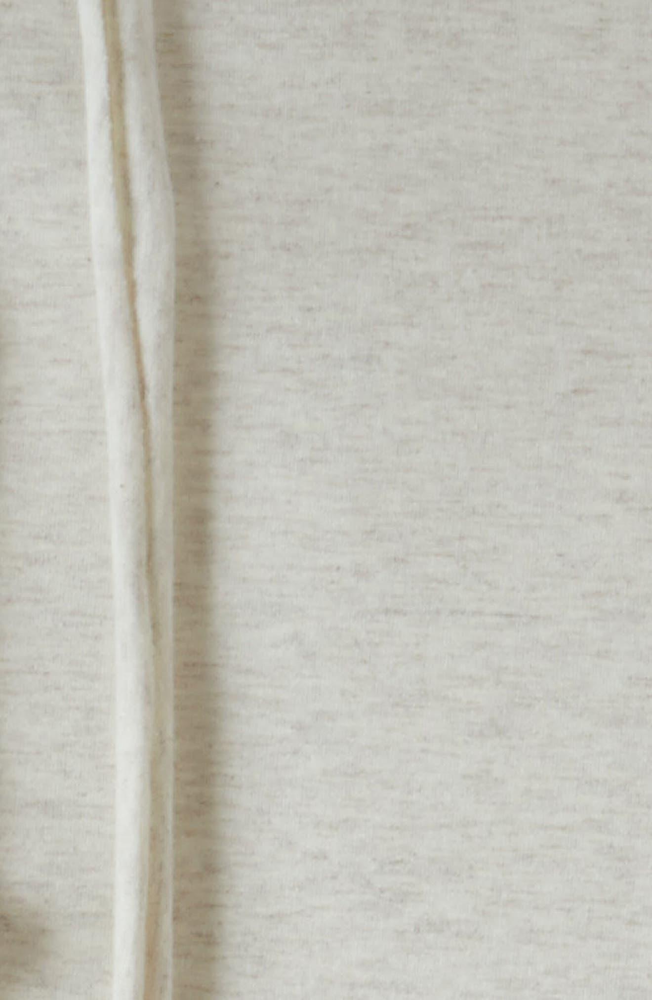 Alternate Image 2  - Nordstrom at Home Jersey Grid Duvet Cover