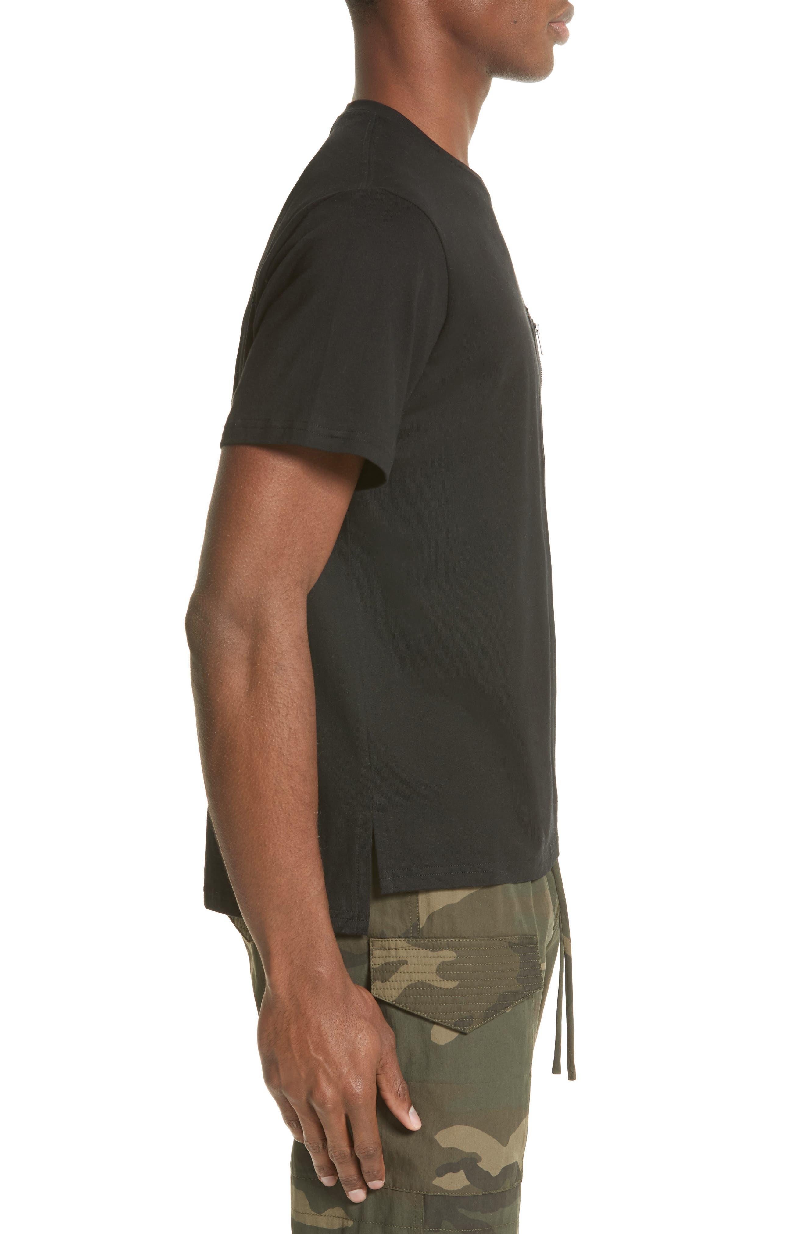 Alternate Image 3  - OVADIA & SONS Zip Pocket T-Shirt