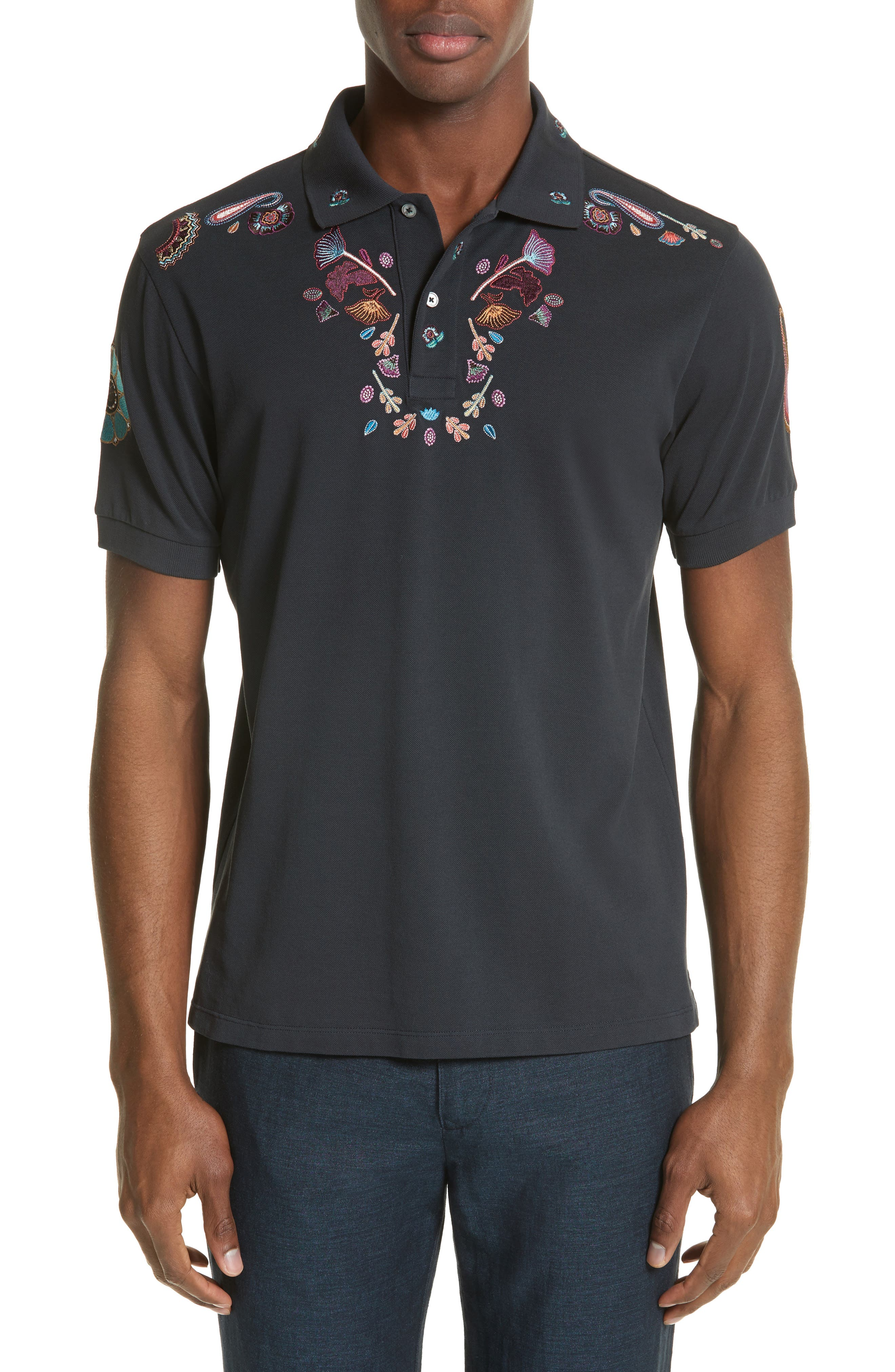 Paul Smith Embroidered Polo