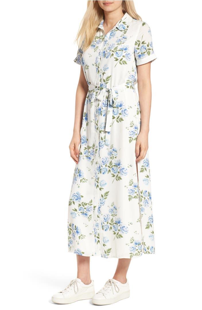 L 39 Academie Women 39 S Apparel The Maxi Shirt Dress Nordstrom