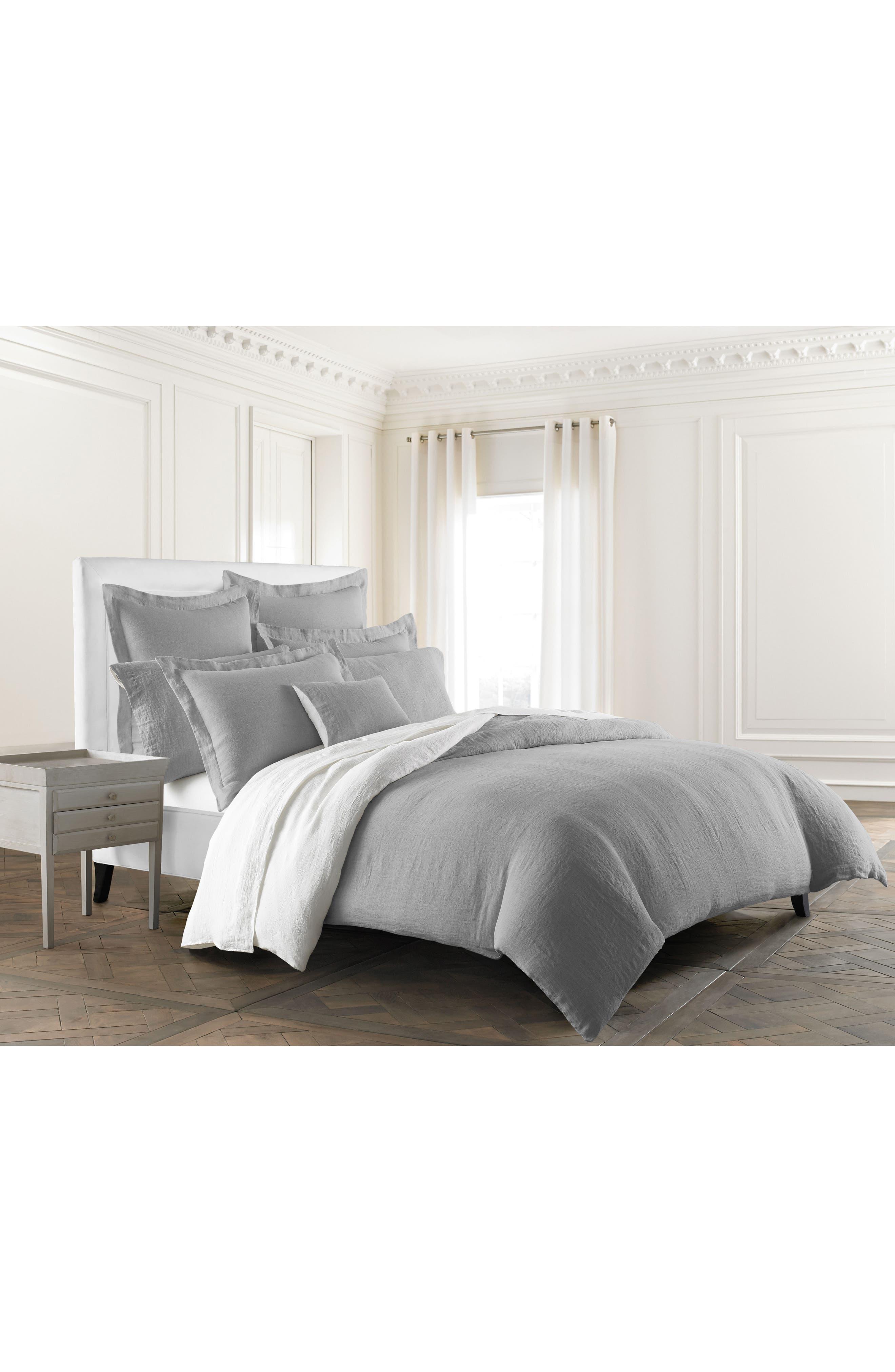 Main Image - KASSATEX Lino Linen Duvet Cover
