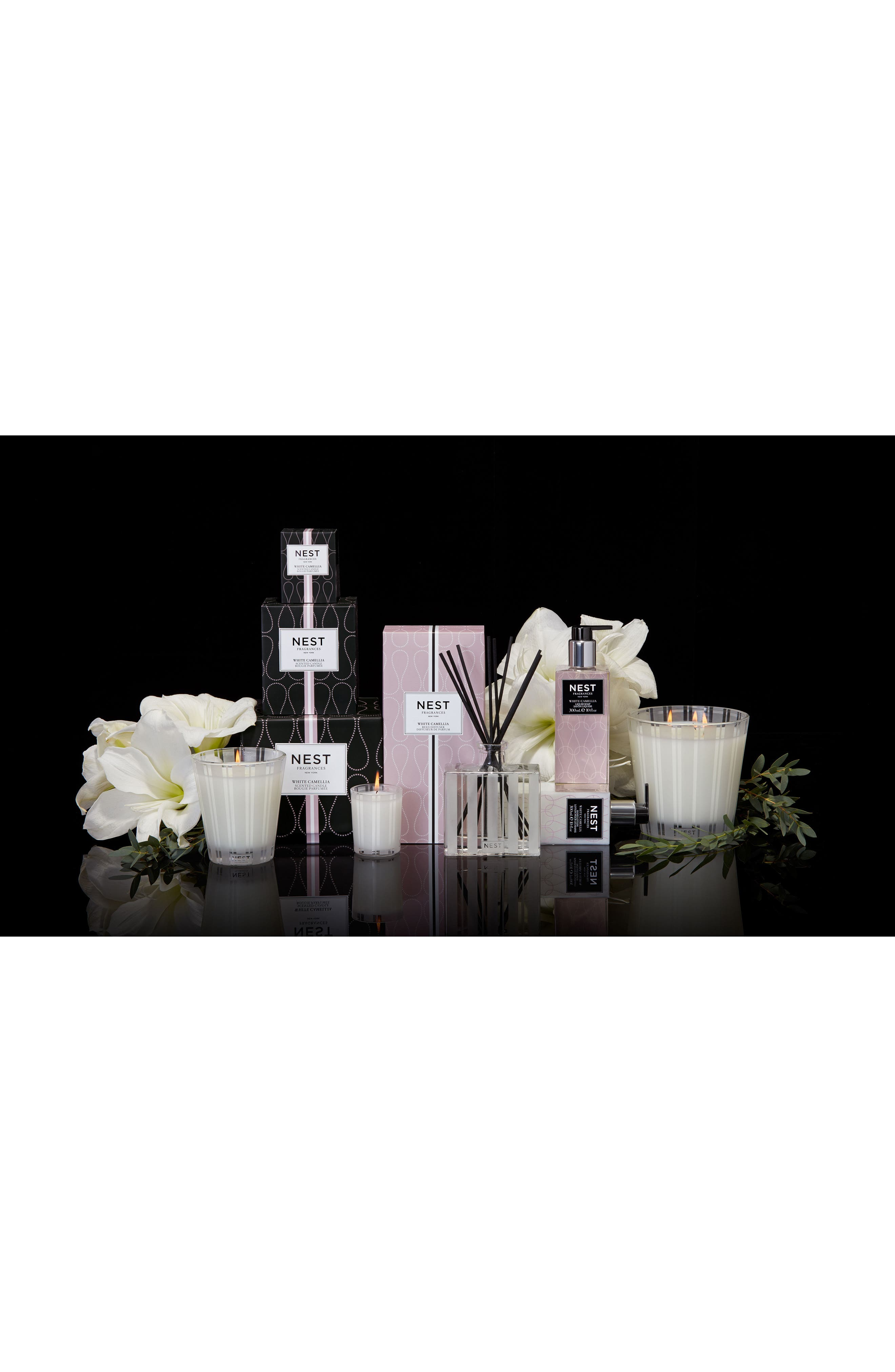 Alternate Image 2  - NEST Fragrances White Camellia Reed Diffuser