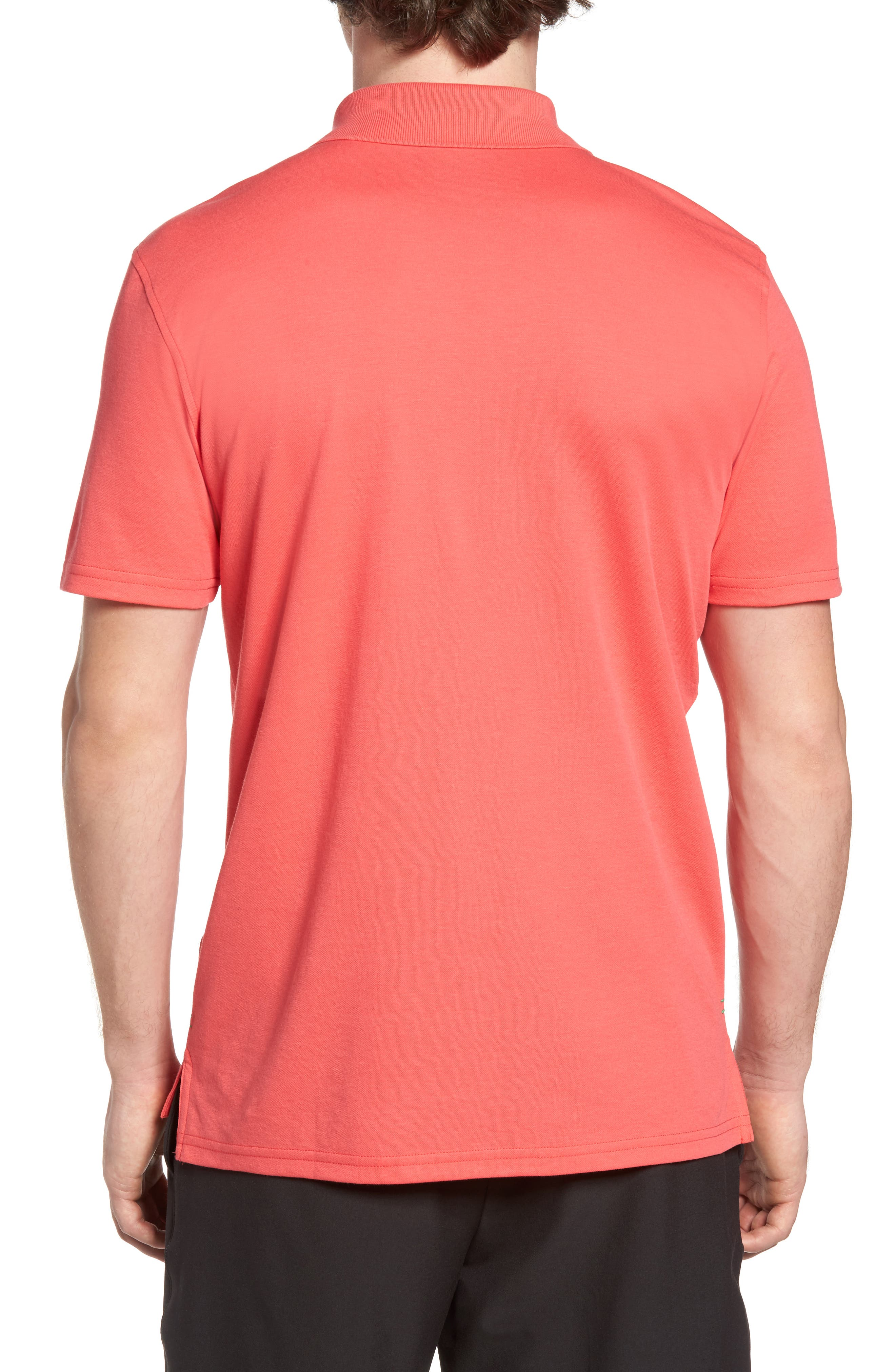 Golf Polo,                             Alternate thumbnail 2, color,                             Punch