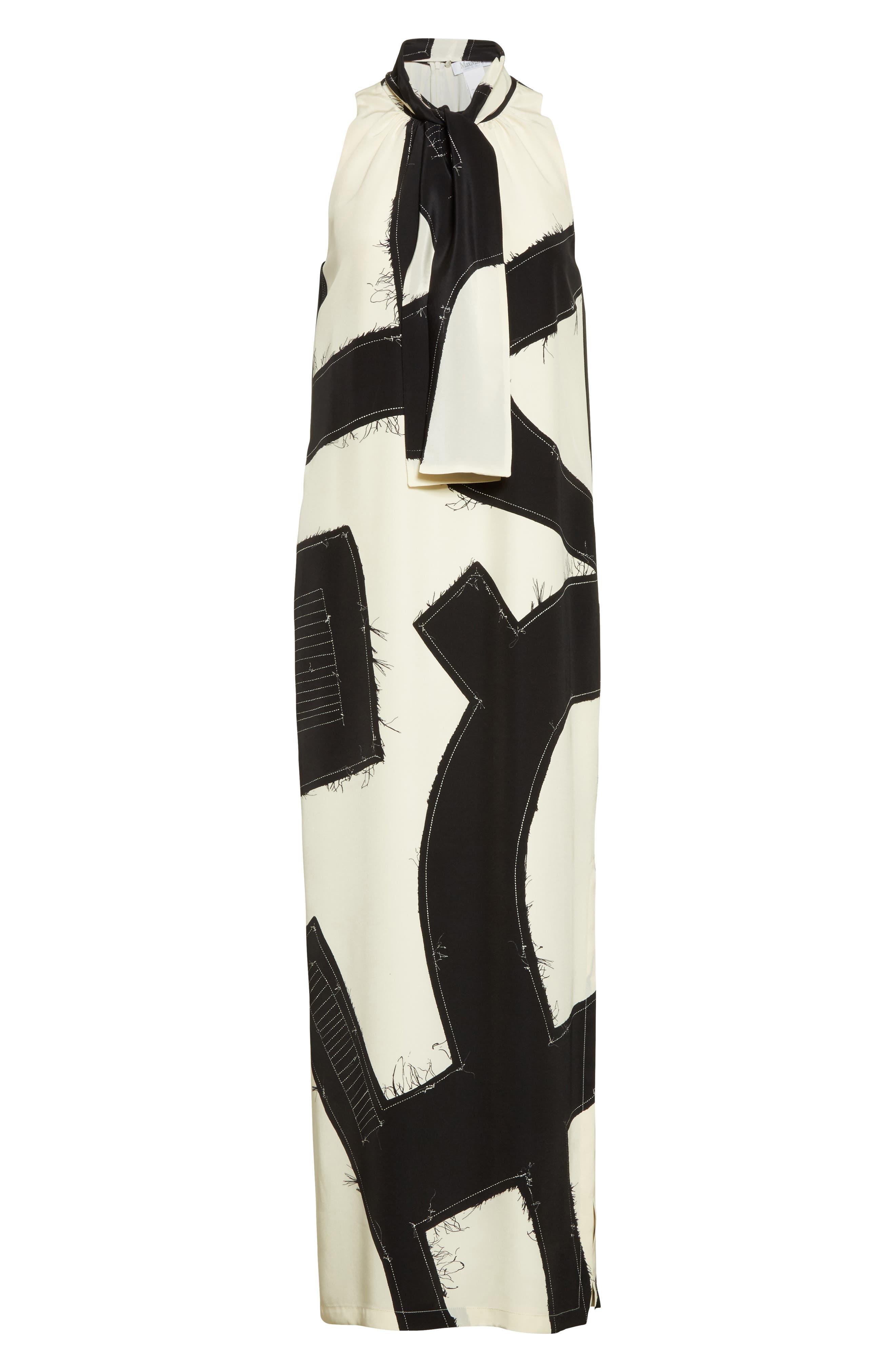 Alternate Image 4  - Max Mara Agiato Print Silk Dress