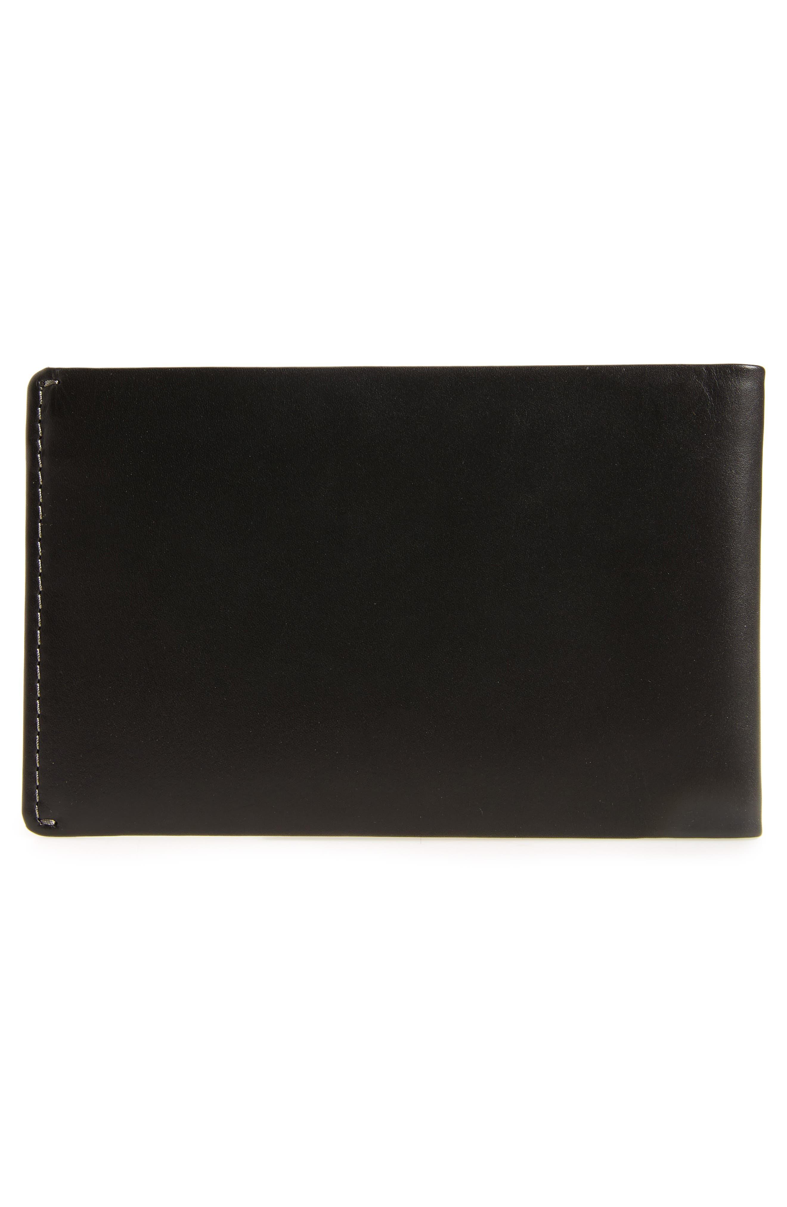 RFID Travel Wallet,                             Alternate thumbnail 3, color,                             Black