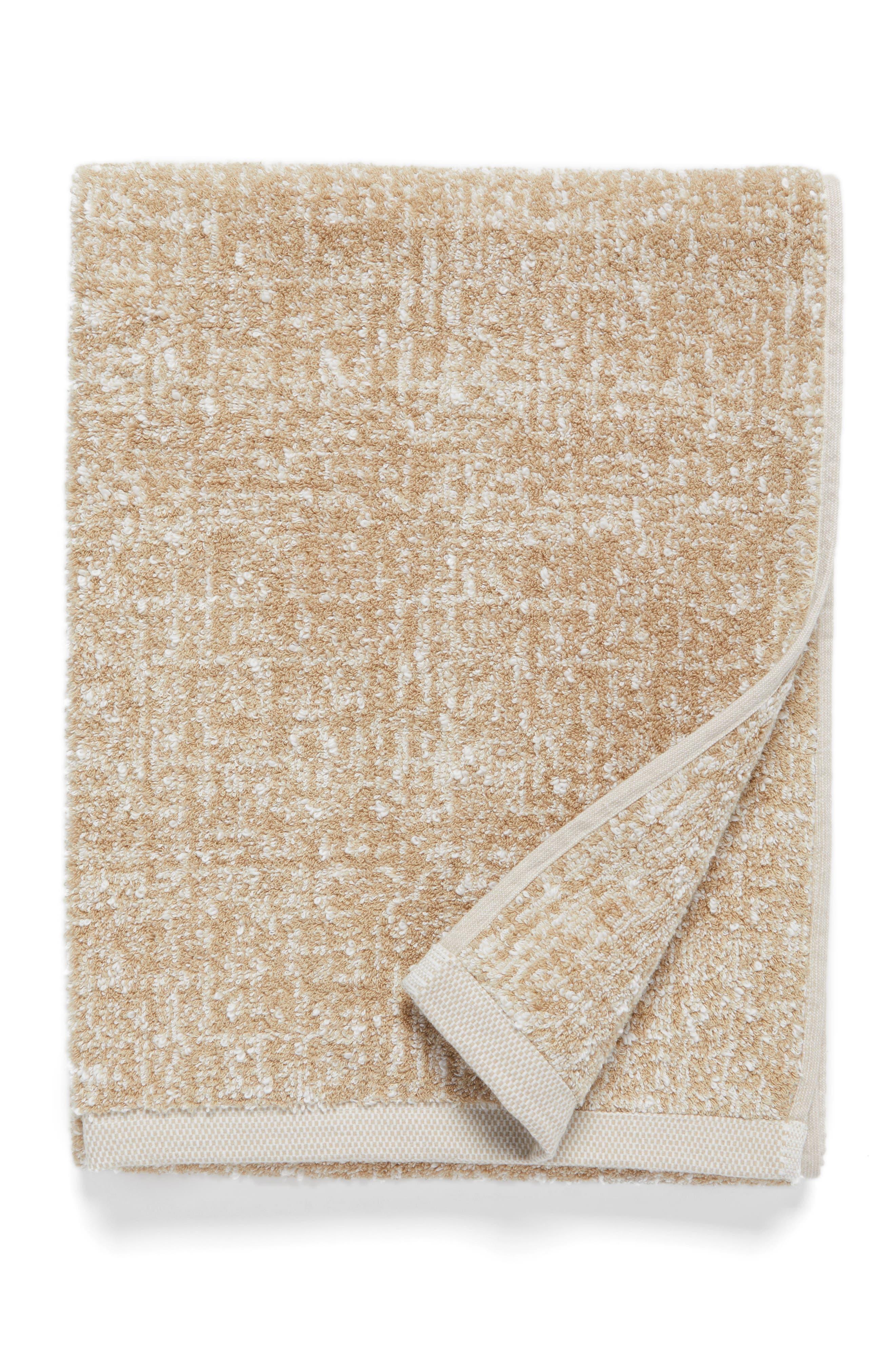 Main Image - Nordstrom at Home Tweed Jacquard Bath Towel