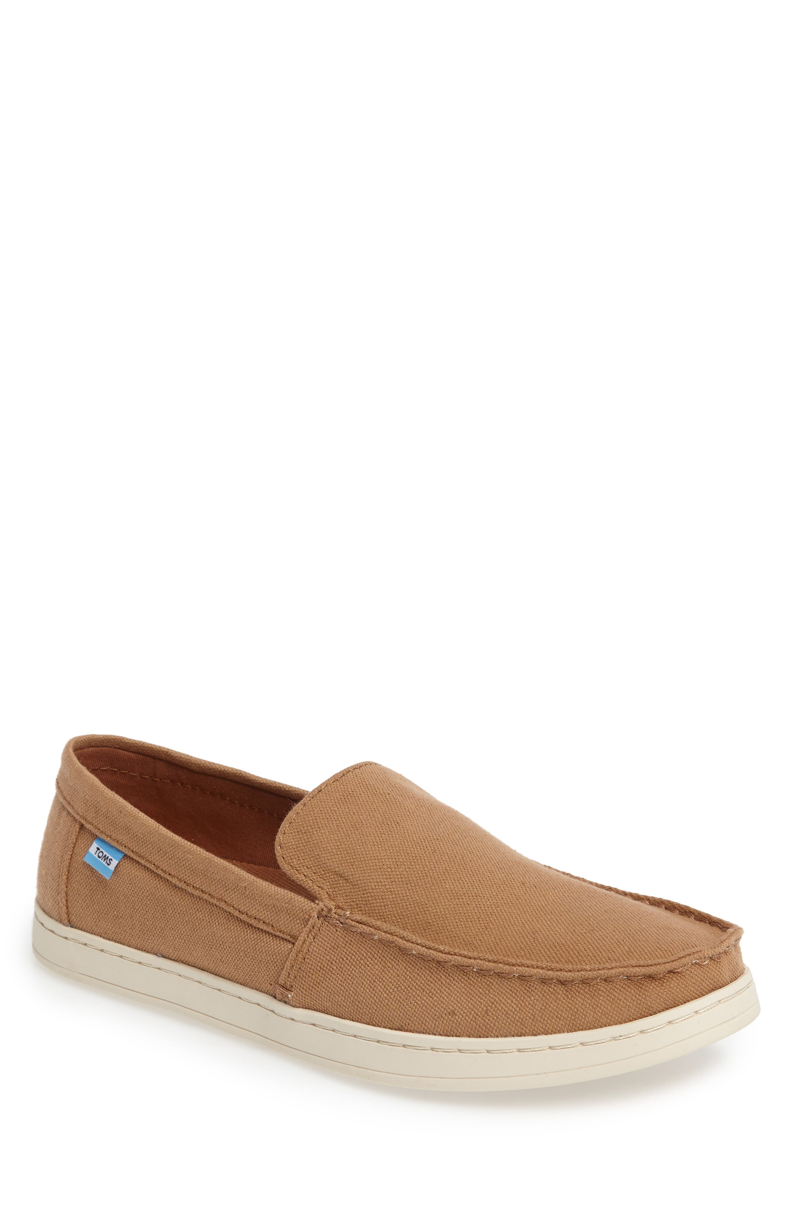 Aiden Slip-On Loafer,                             Main thumbnail 1, color,                             Toffee