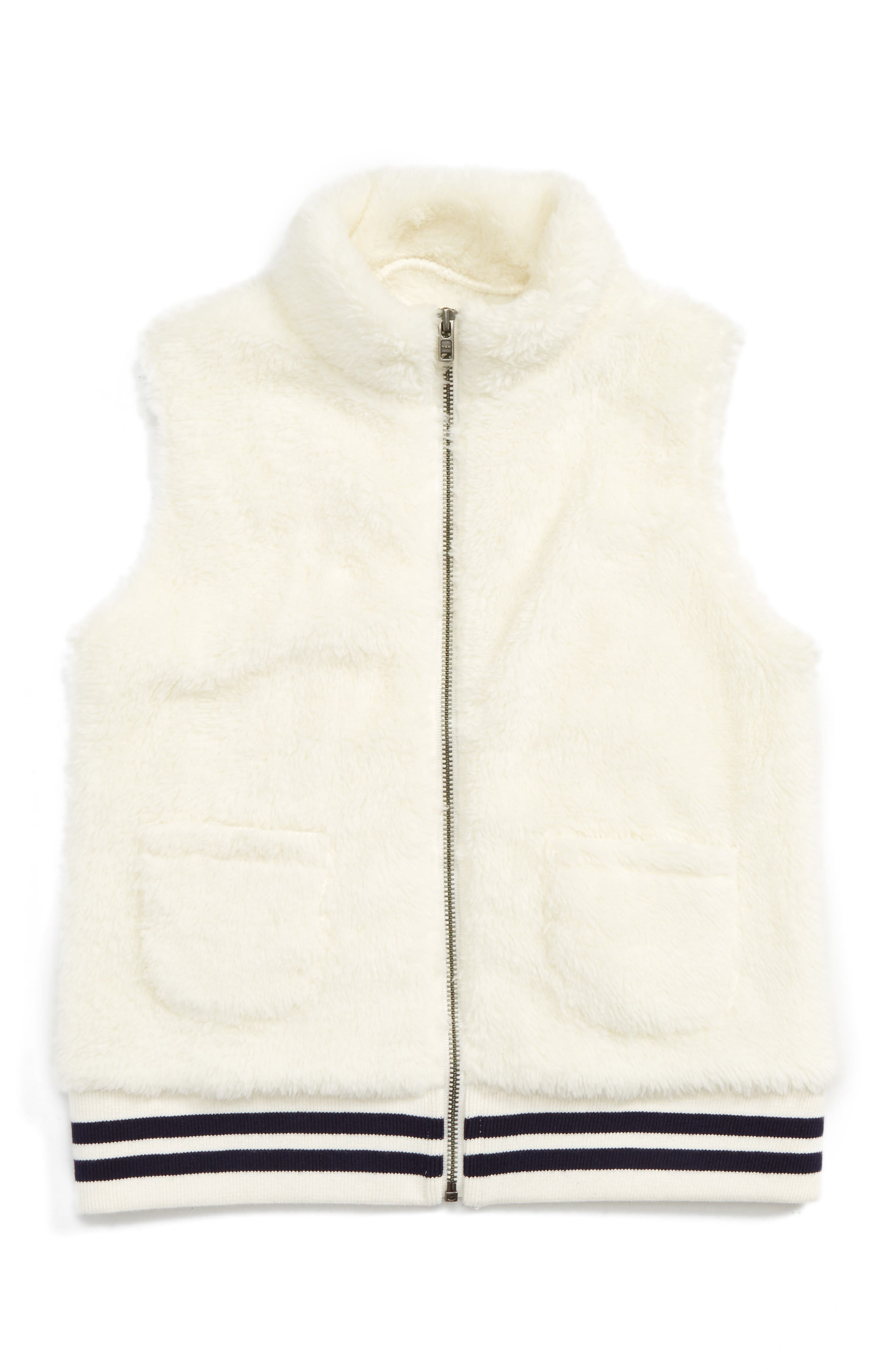 Tucker + Tate Cuddle Faux Fur Vest (Toddler Girls, Little Girls & Big Girls)