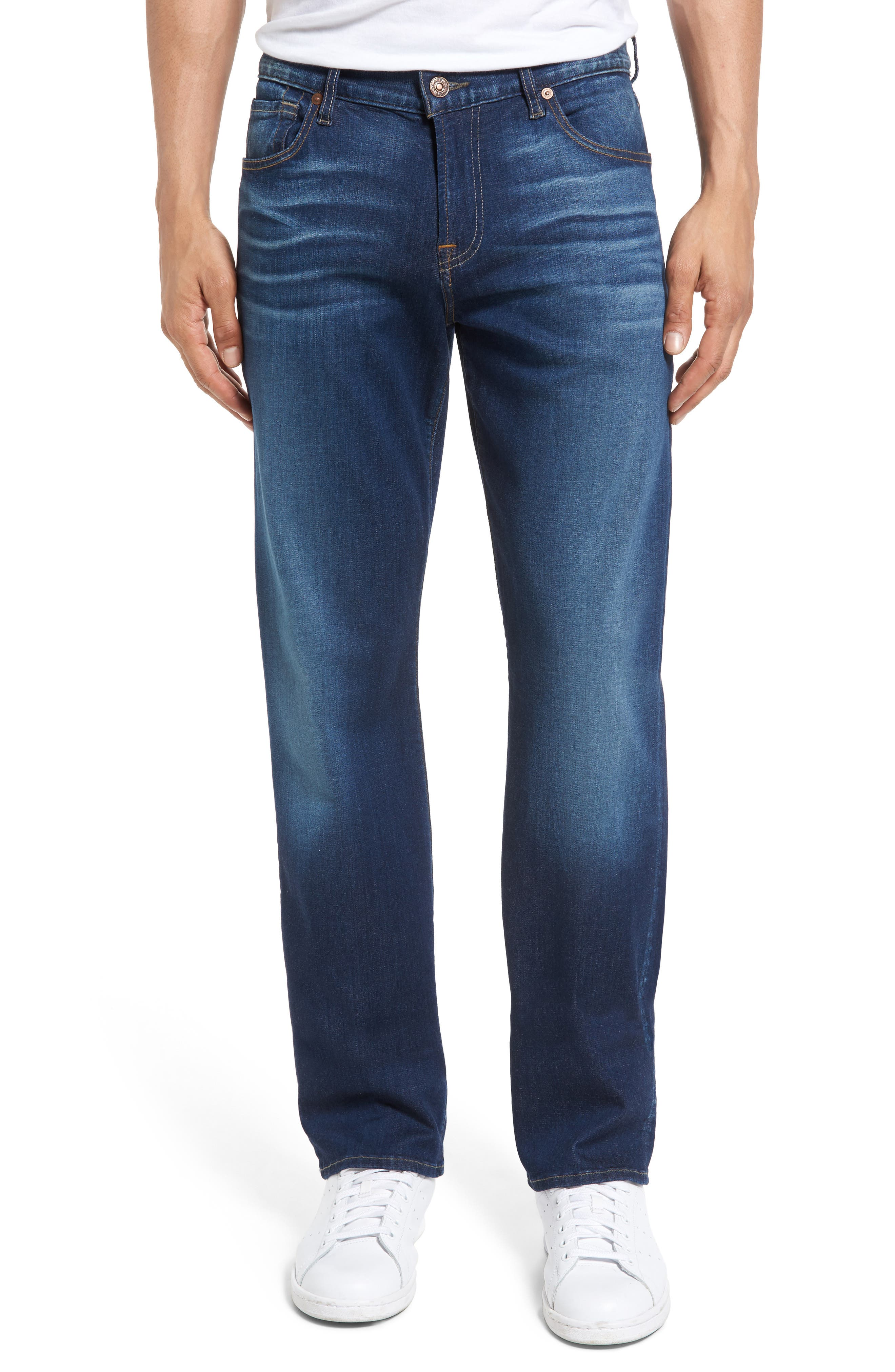 Main Image - 7 For All Mankind® Slimmy Slim Fit Jeans (MOMT-Momentum)