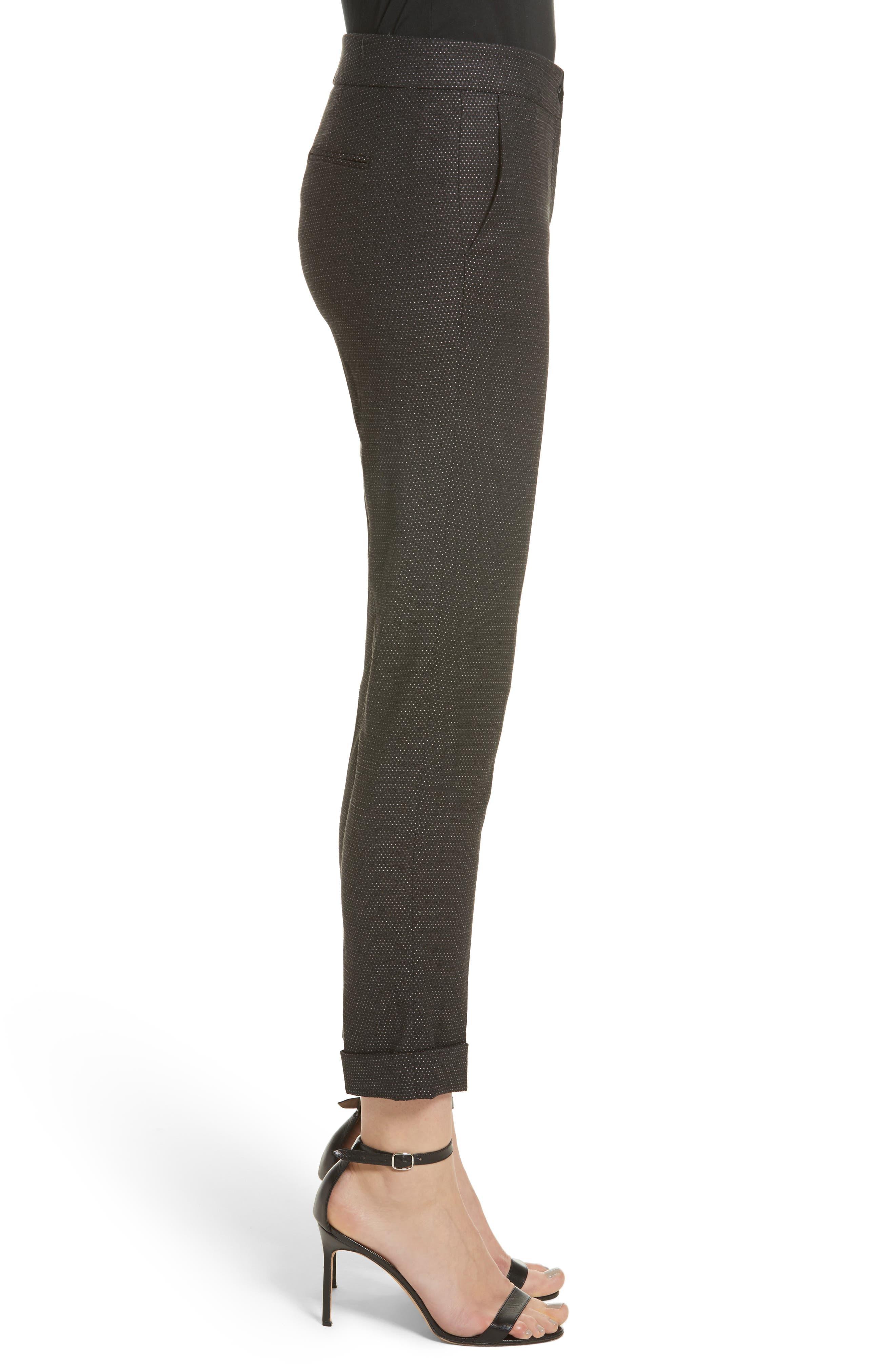 Alternate Image 5  - Etro Dot Wool Blend Crop Pants