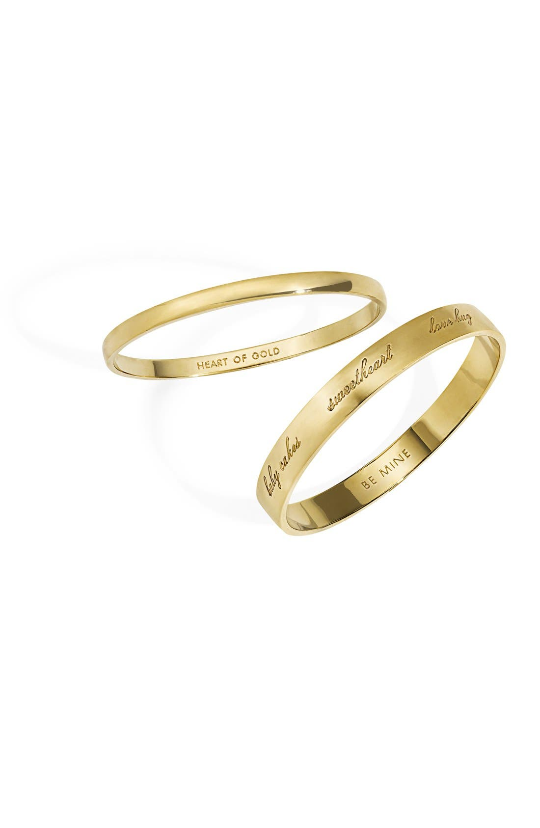 Alternate Image 2  - kate spade new york 'idiom - heart of gold' bangle