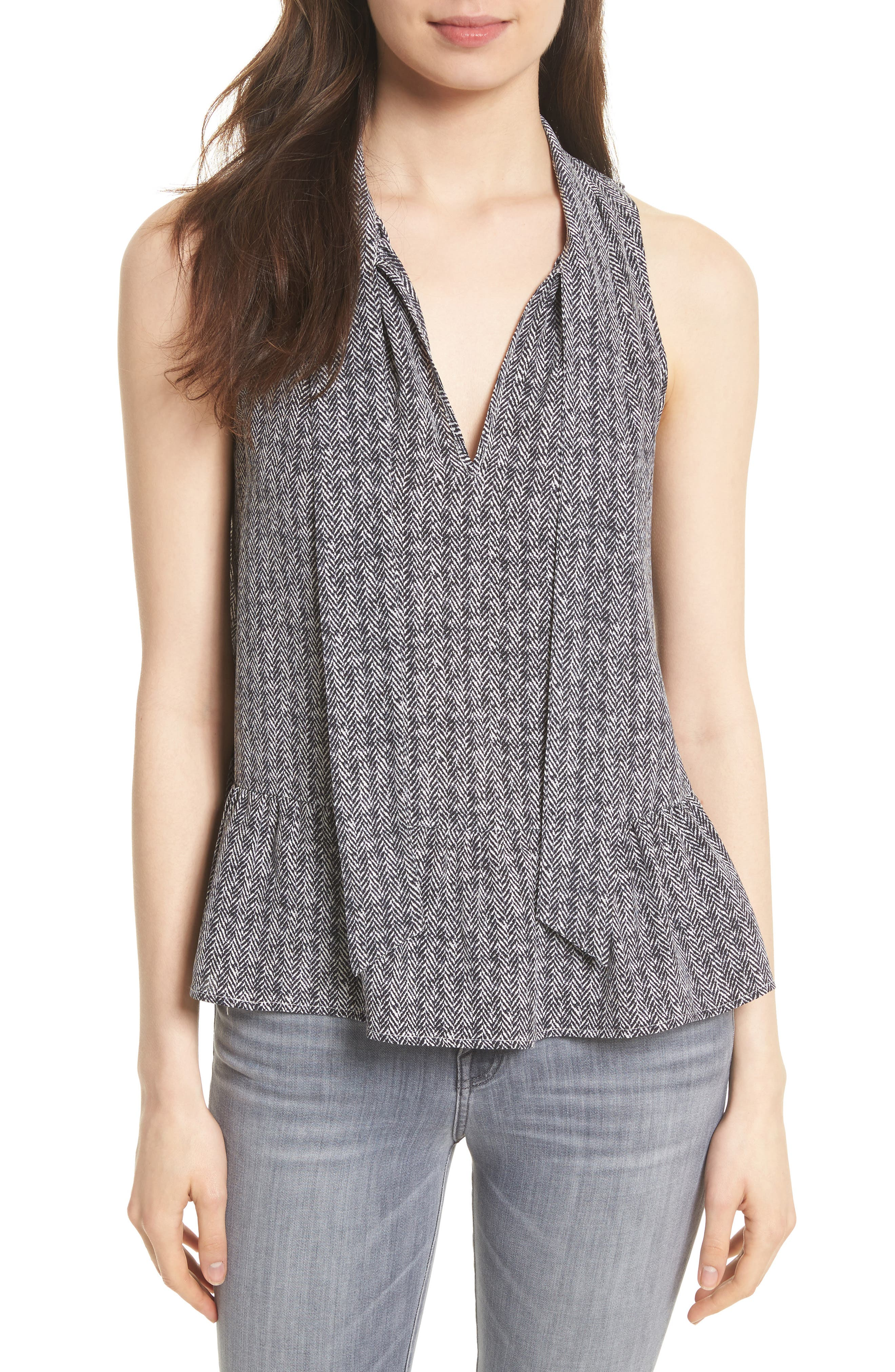 Joie Estero Sleeveless Silk Top