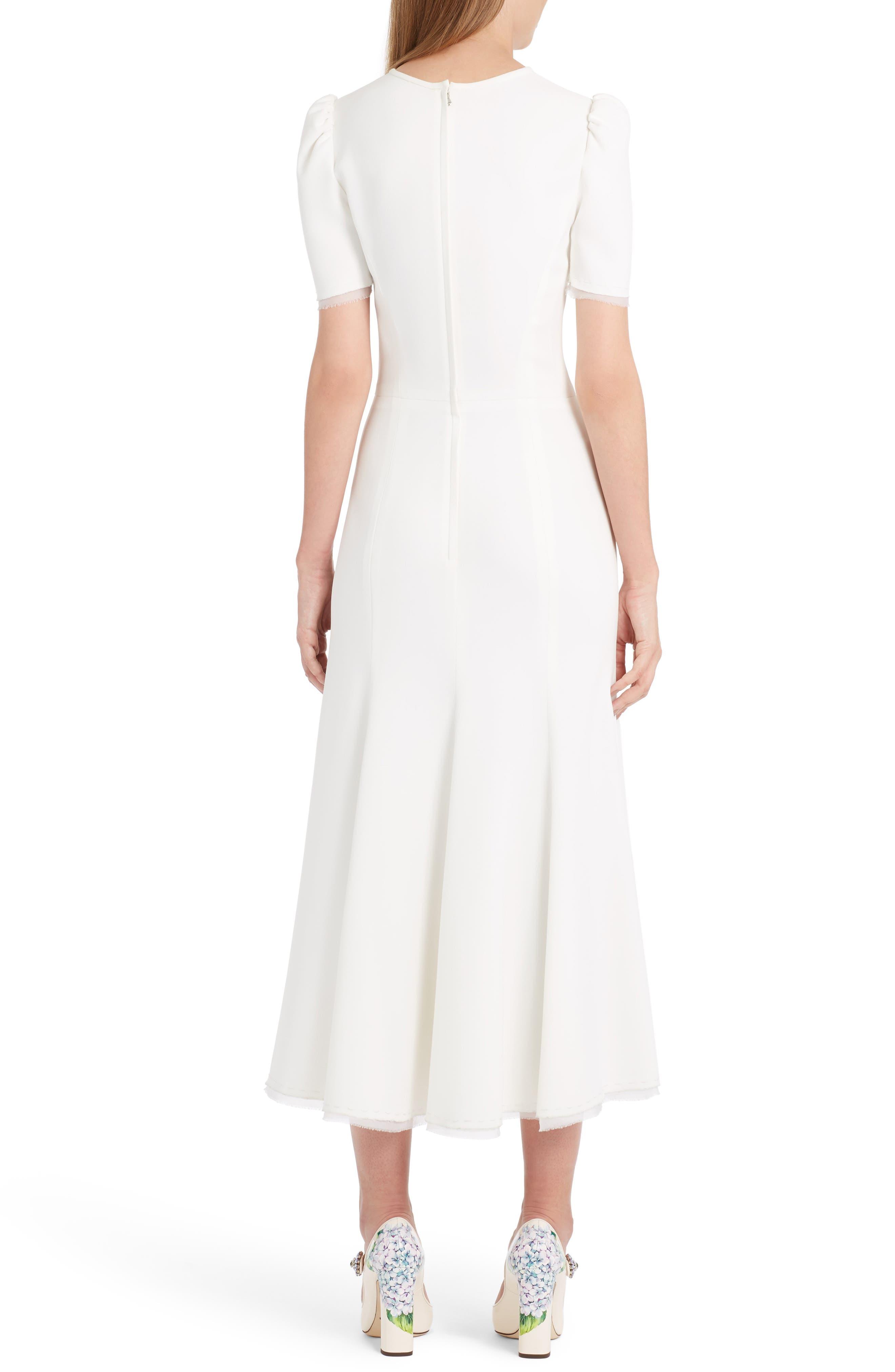 Alternate Image 2  - Dolce&Gabbana Button Midi Dress
