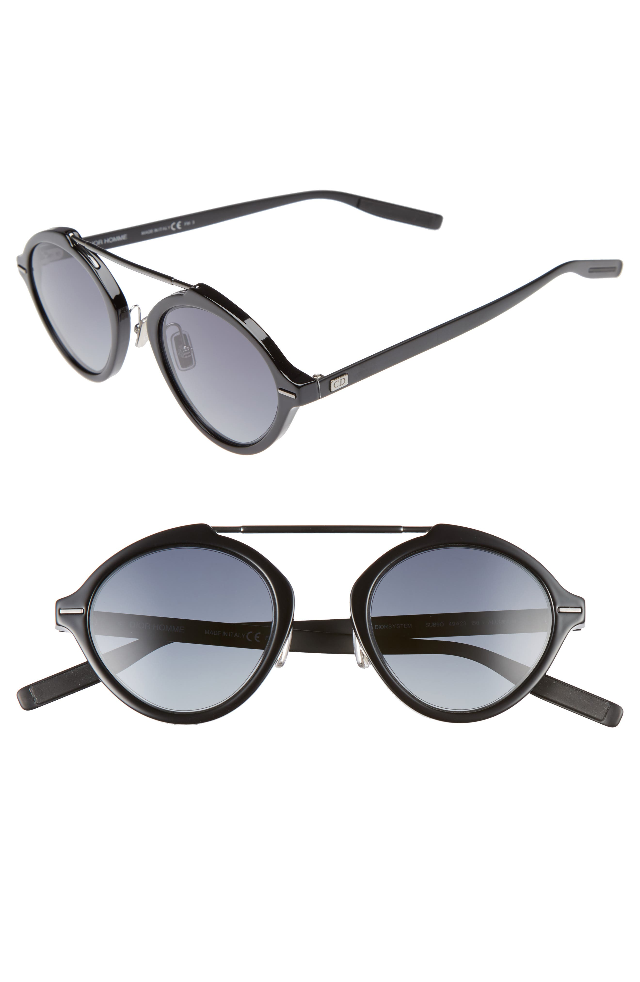 Alternate Image 1 Selected - Dior Homme System 49mm Sunglasses