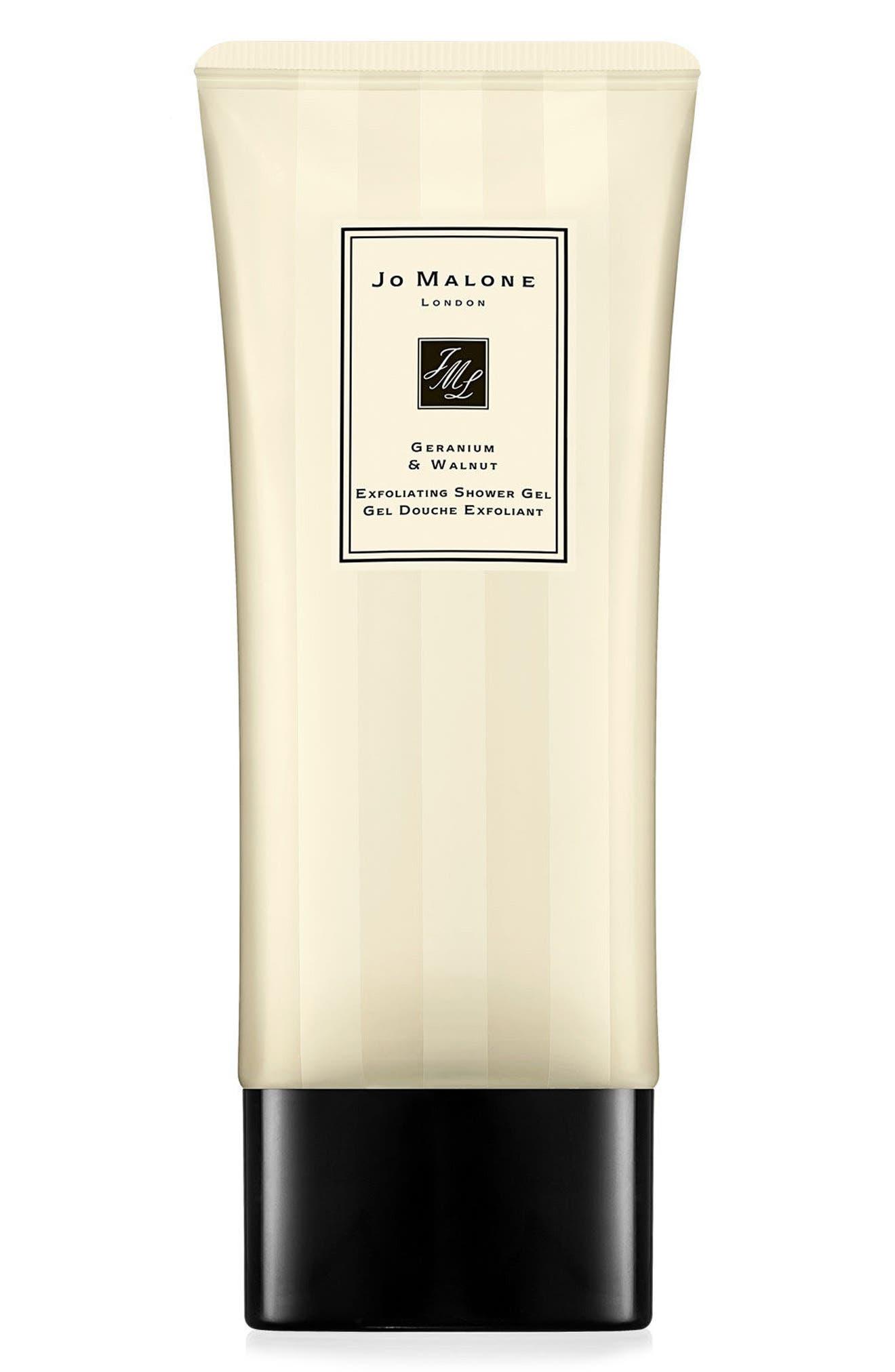 Alternate Image 1 Selected - Jo Malone London™ Geranium & Walnut Exfoliating Shower Gel