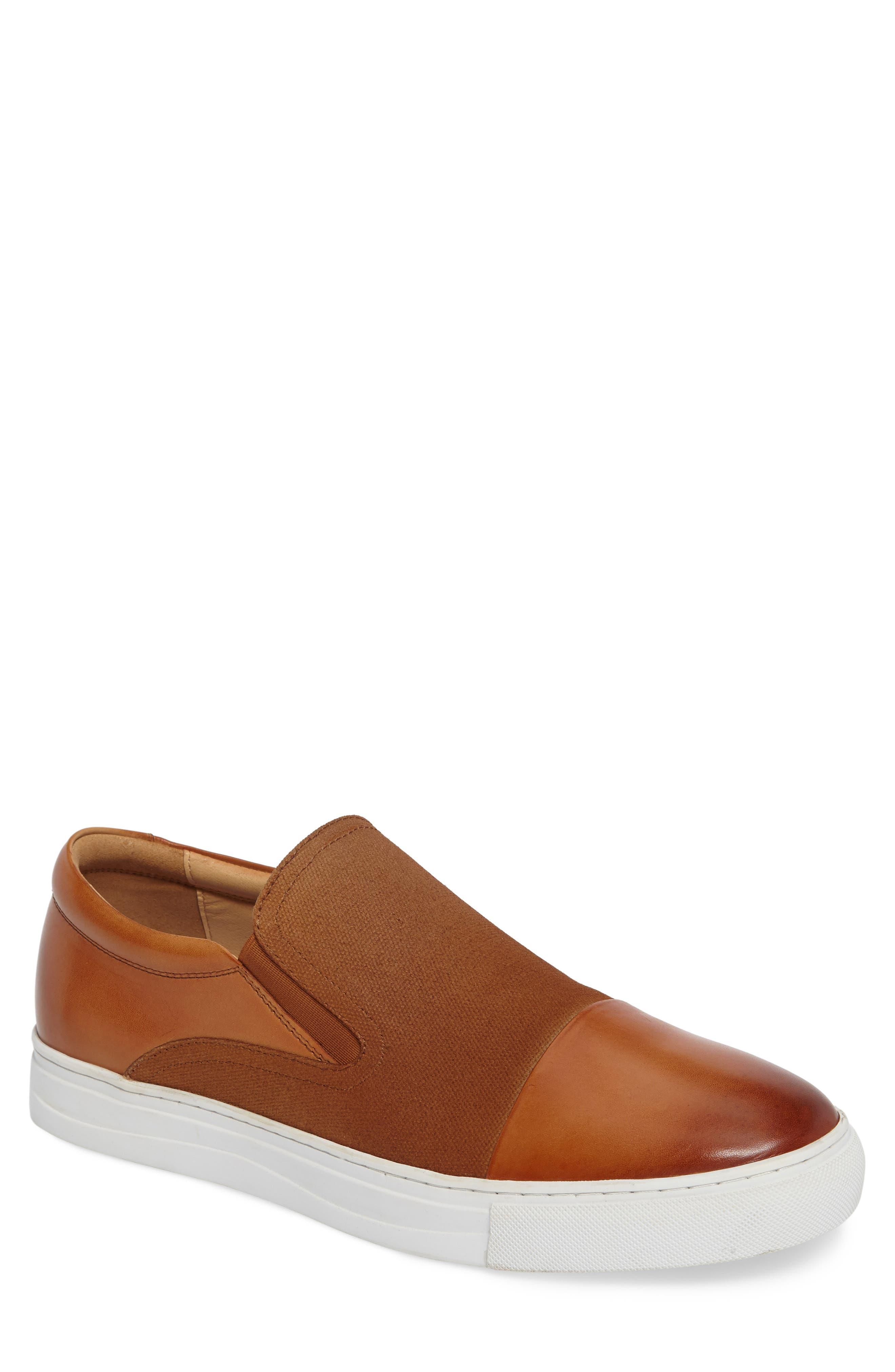 Gants Slip-On,                         Main,                         color, Cognac