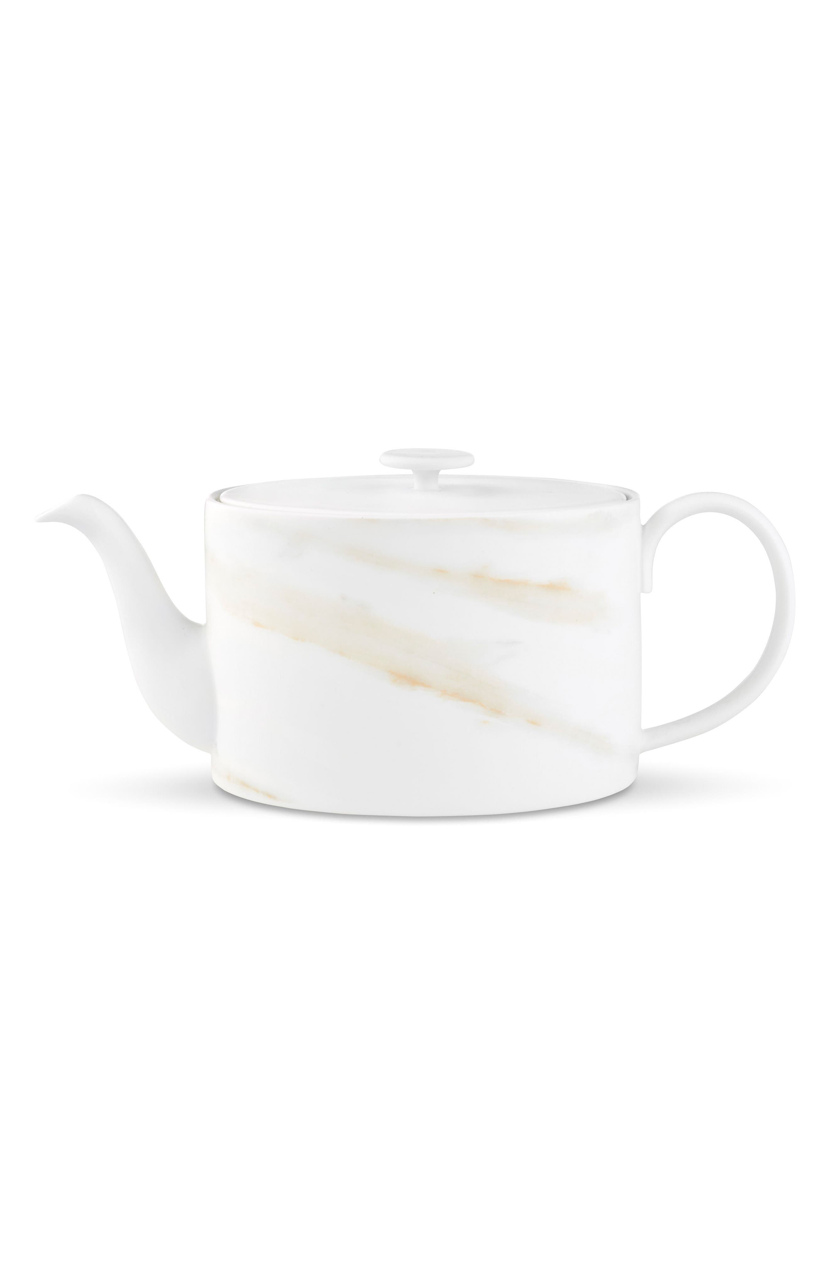 Alternate Image 1 Selected - Vera Wang x Wedgwood Venato Imperial Teapot
