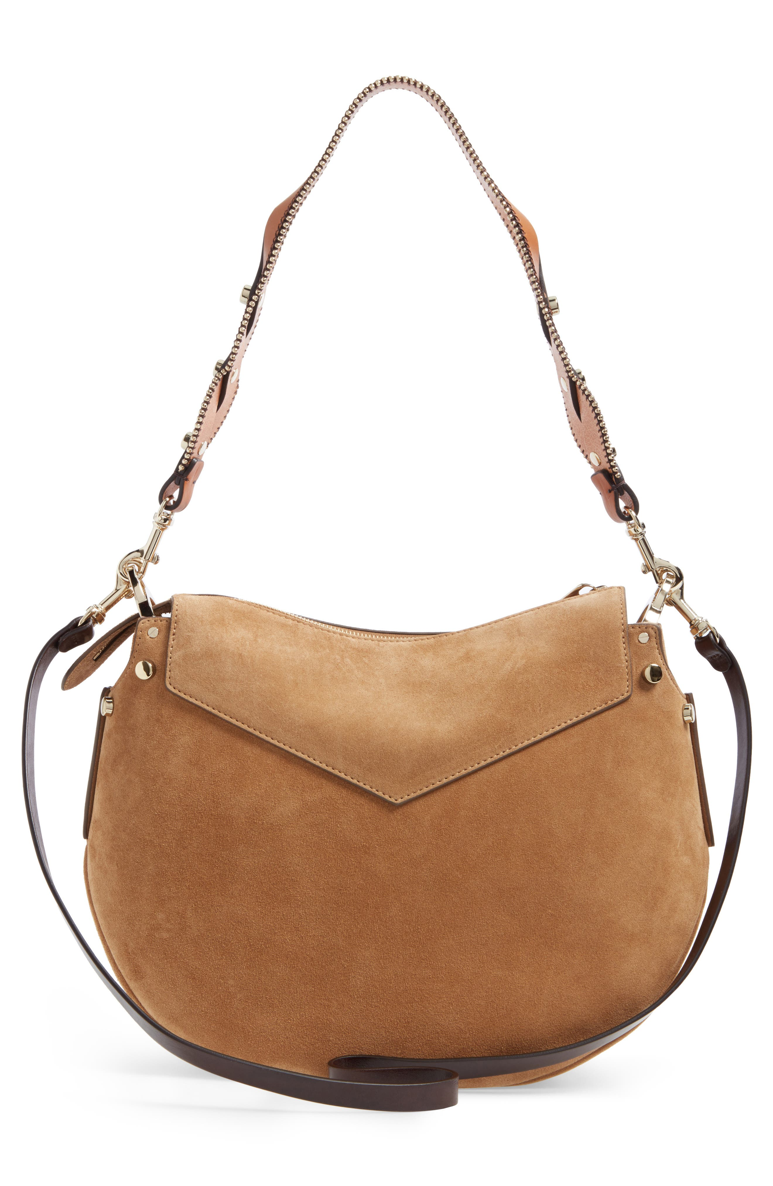 Alternate Image 3  - Jimmy Choo Artie Suede Hobo Bag