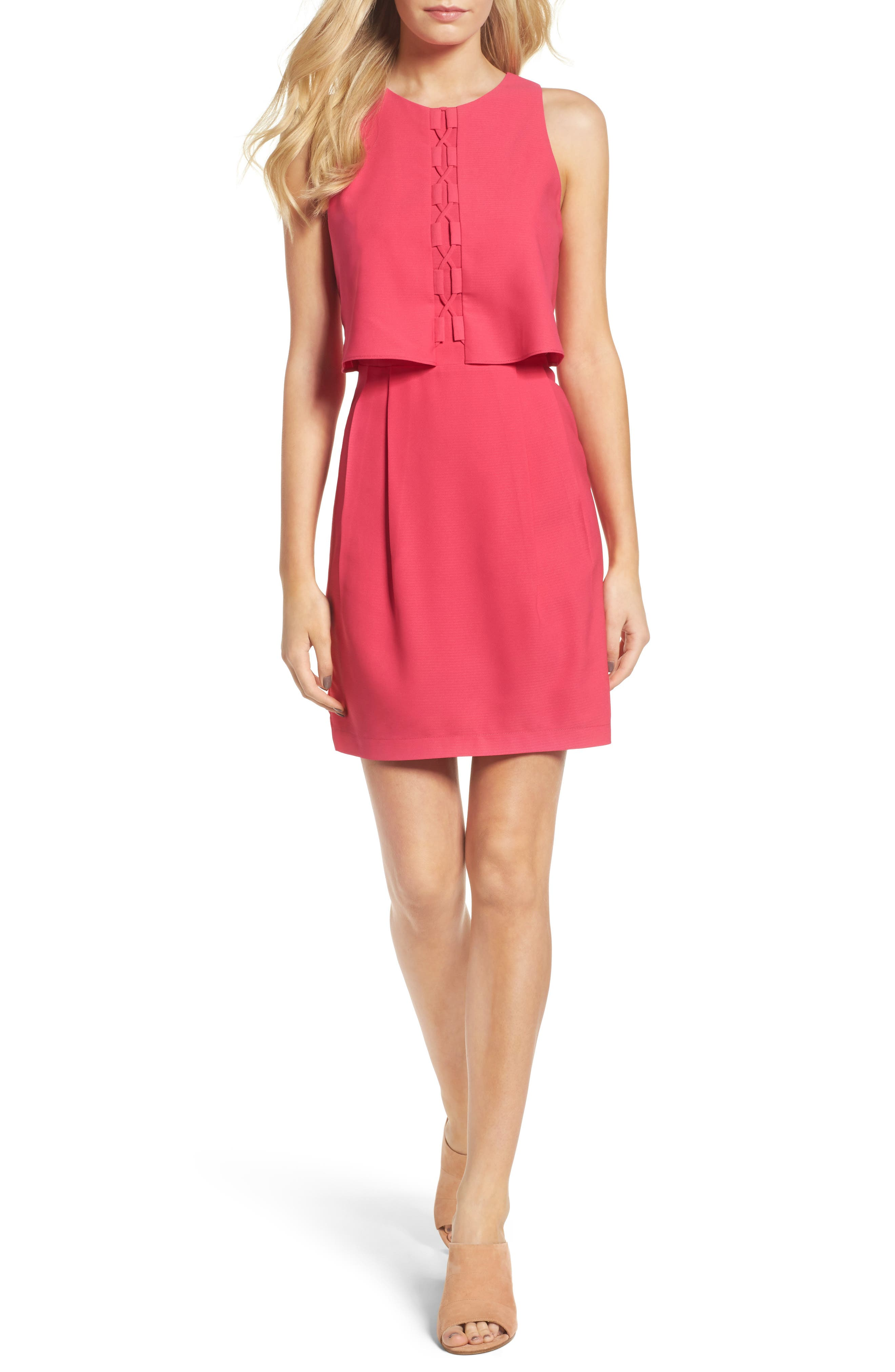 Adelyn Rae Popover Sheath Dress
