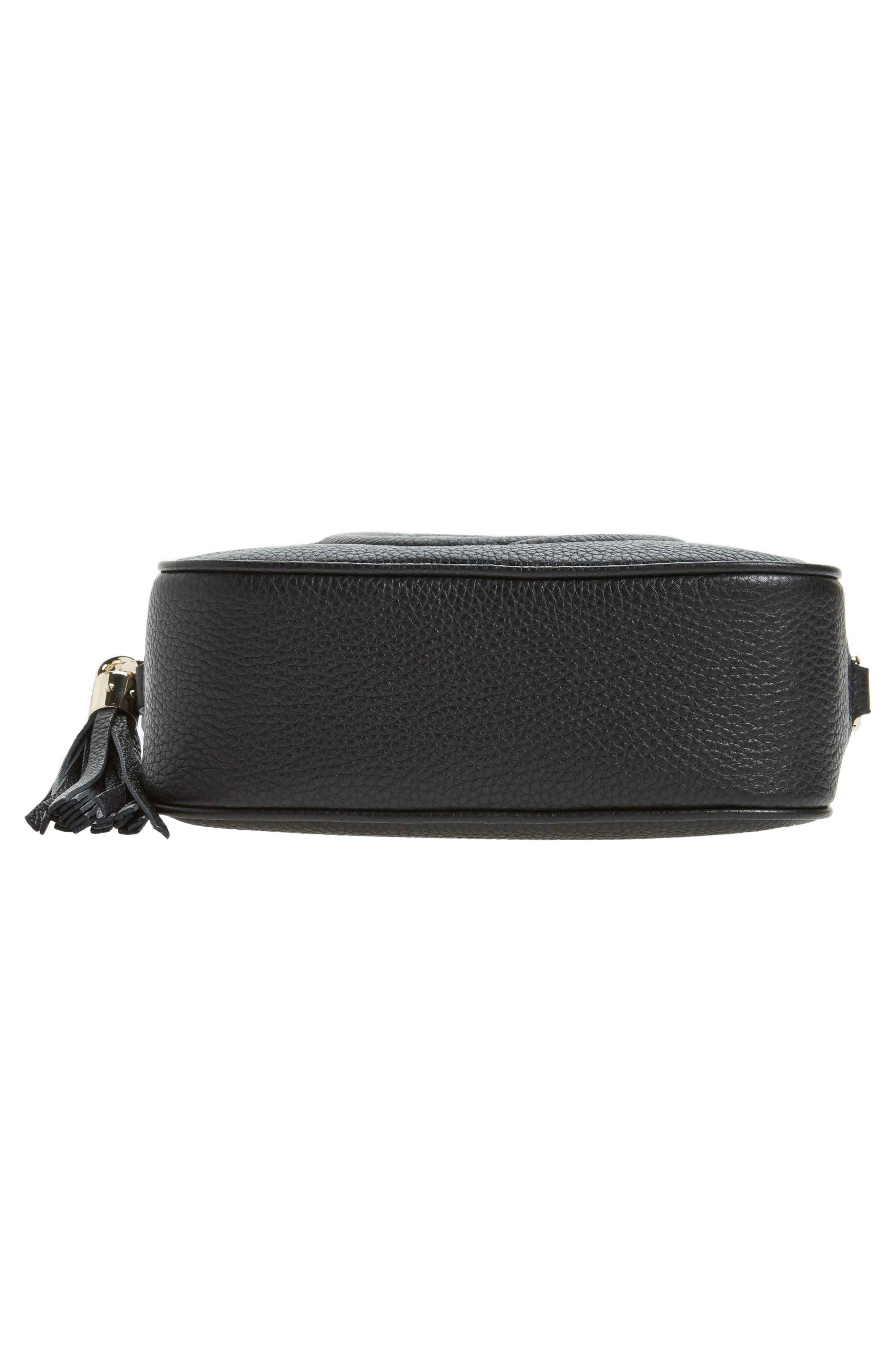 eb975f074947 GUCCI SOHO DISCO LEATHER BAG - BLACK   ModeSens