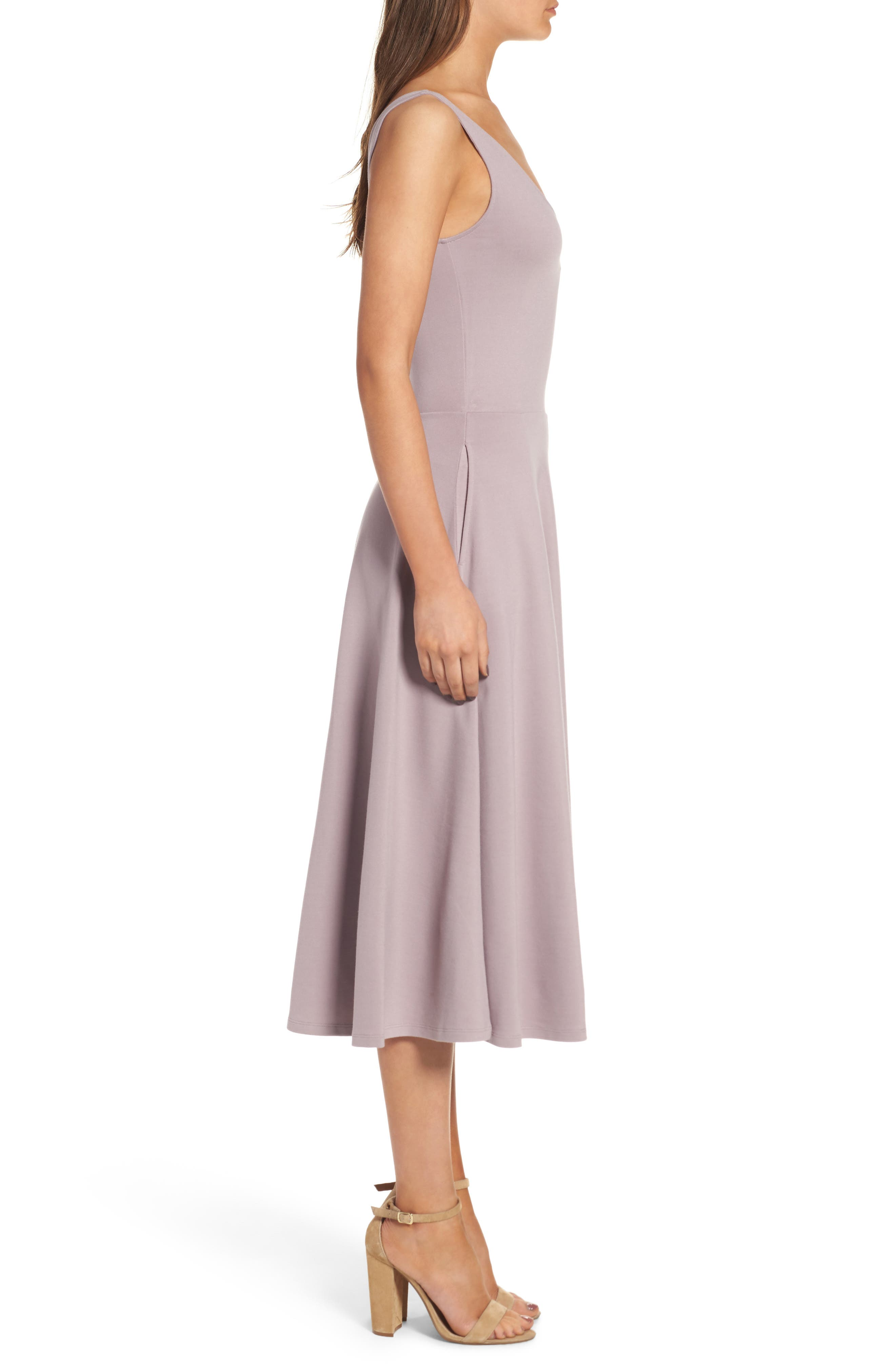 Alternate Image 3  - Leith Stretch Knit Midi Dress