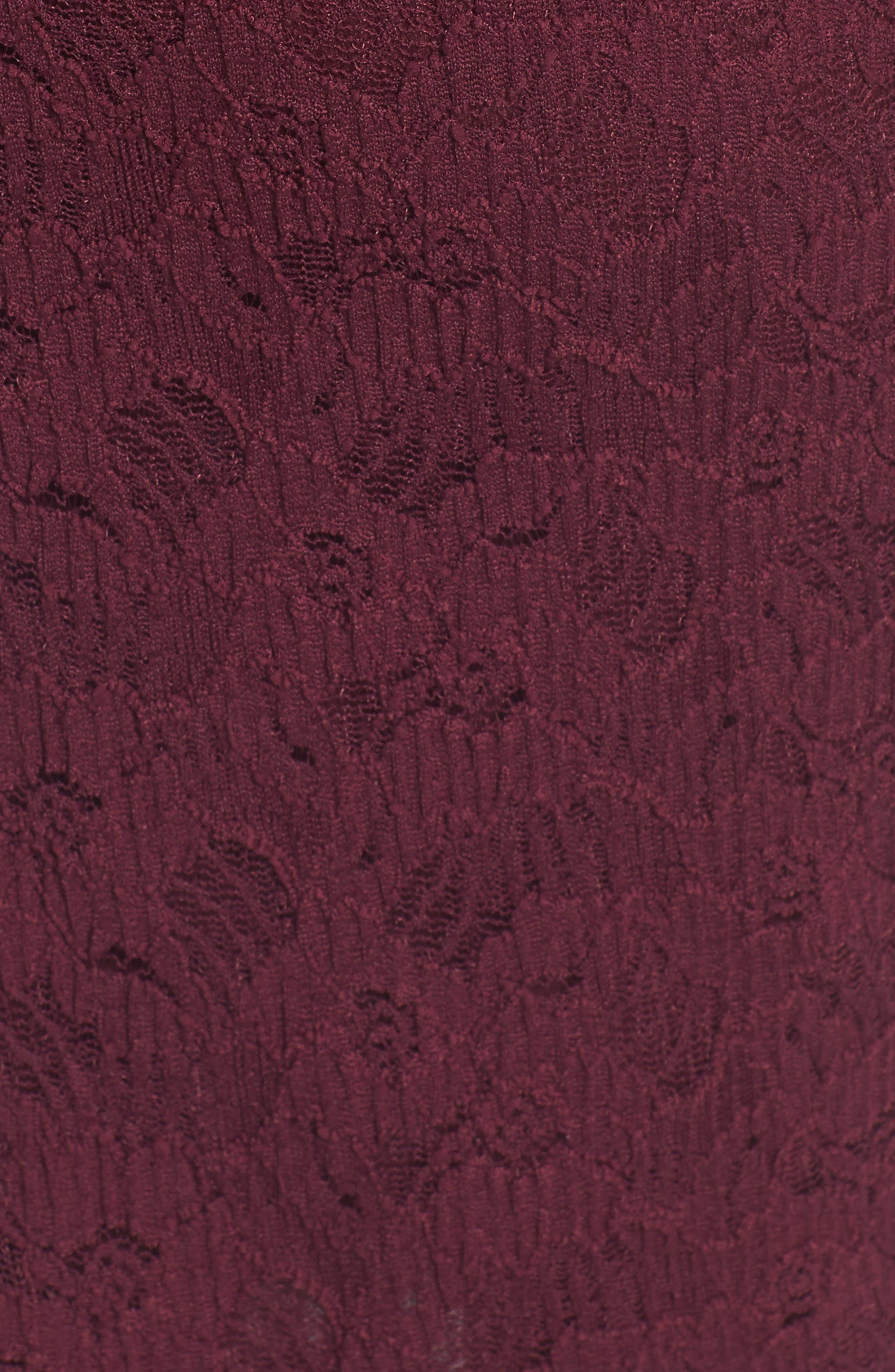 Alternate Image 5  - Soprano Lace Body-Con Dress