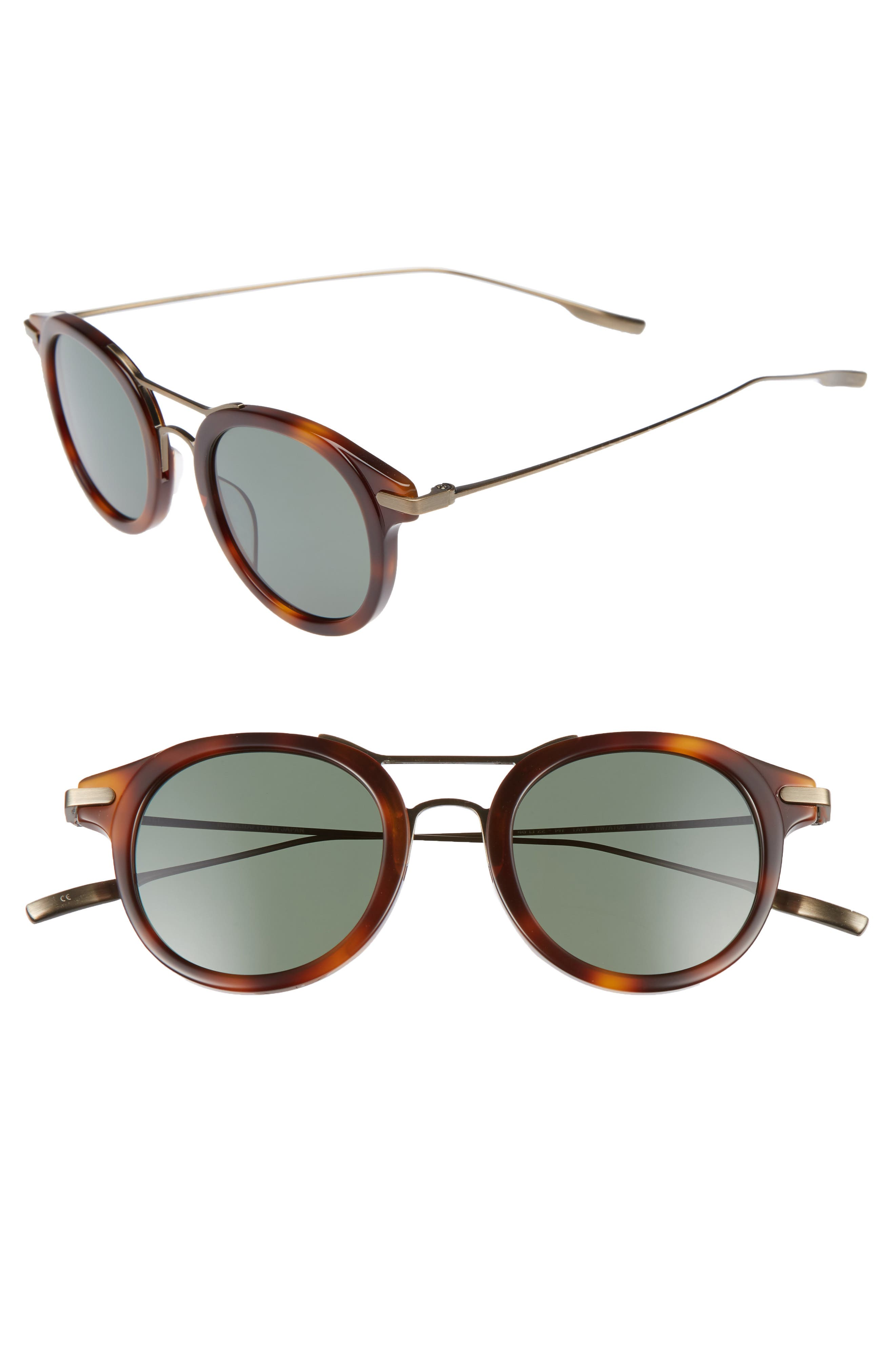 SALT Taft 46mm Polarized Round Sunglasses