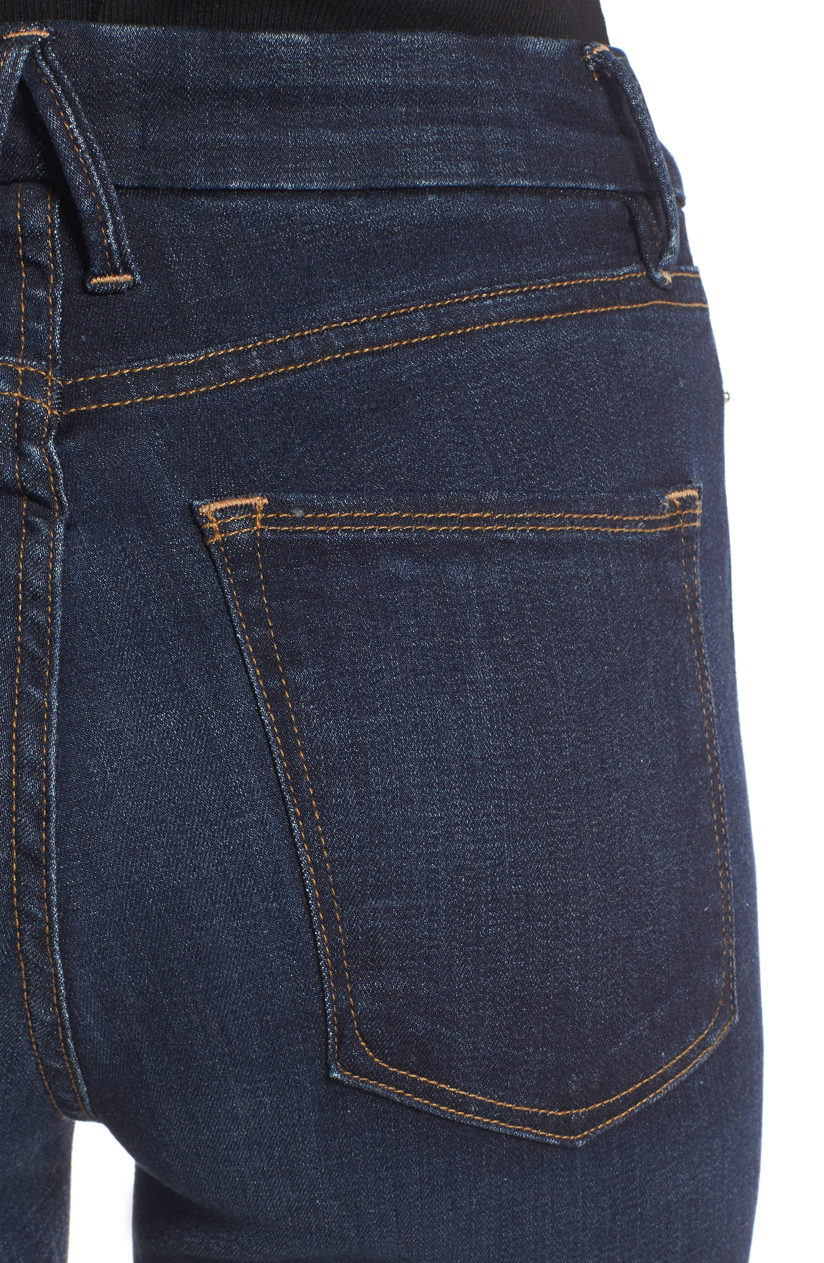 Alternate Image 4  - Good American Good Legs High Waist Ankle Skinny Jeans (Extended Sizes)