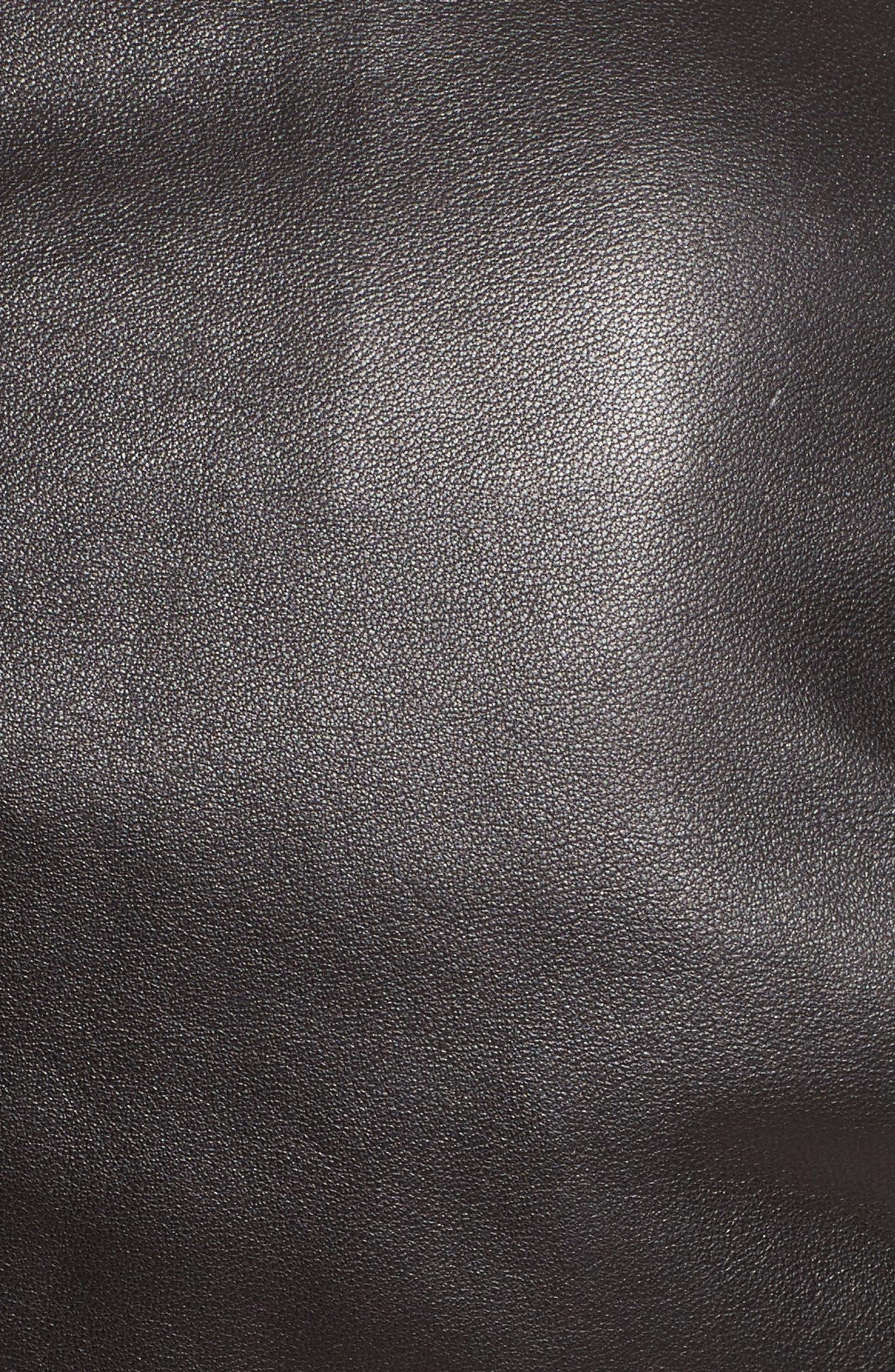 Alternate Image 3  - Belstaff Mollison Leather Moto Jacket
