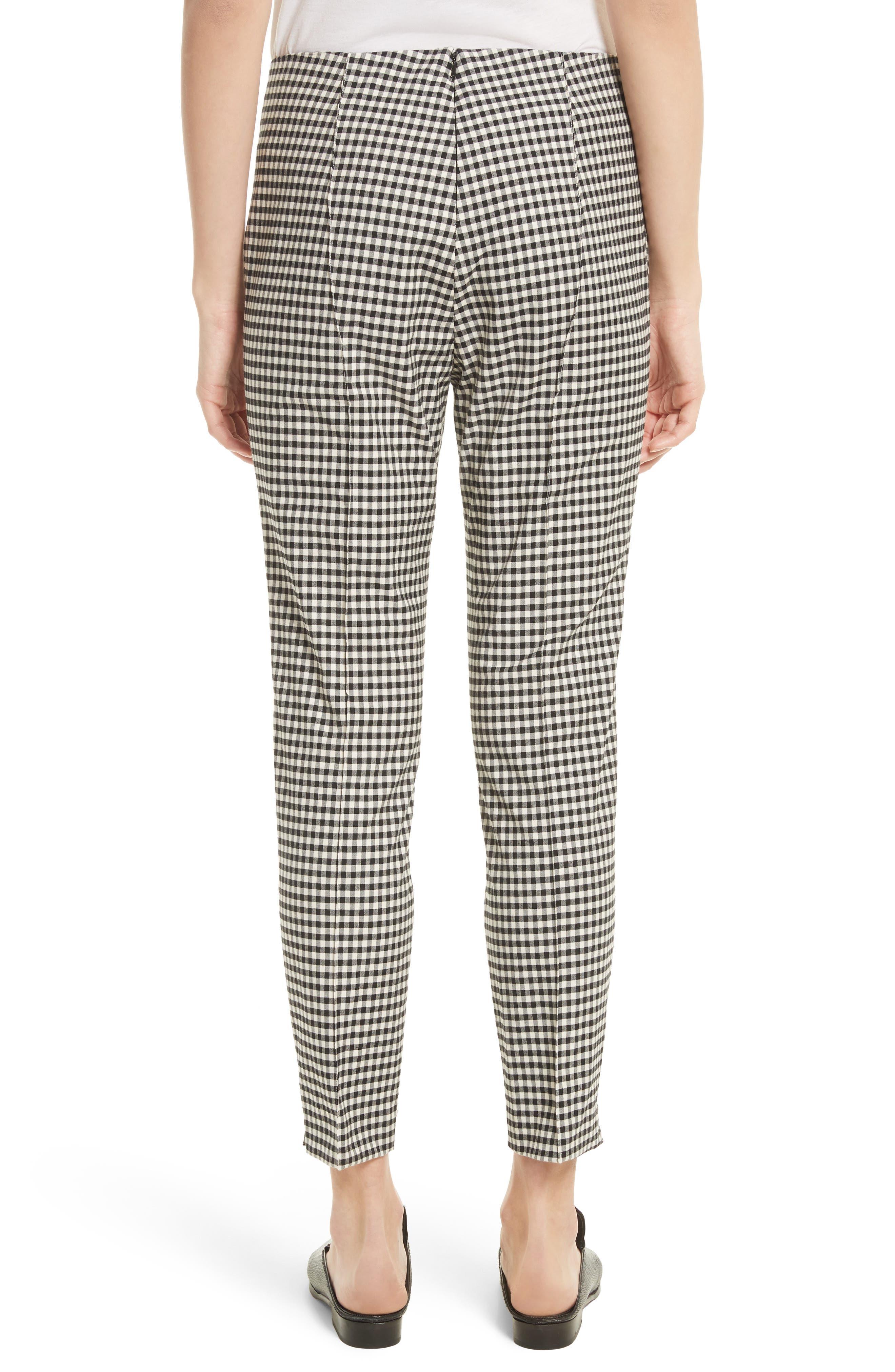 Alternate Image 2  - Veronica Beard Tee High Waisted Seam Trousers