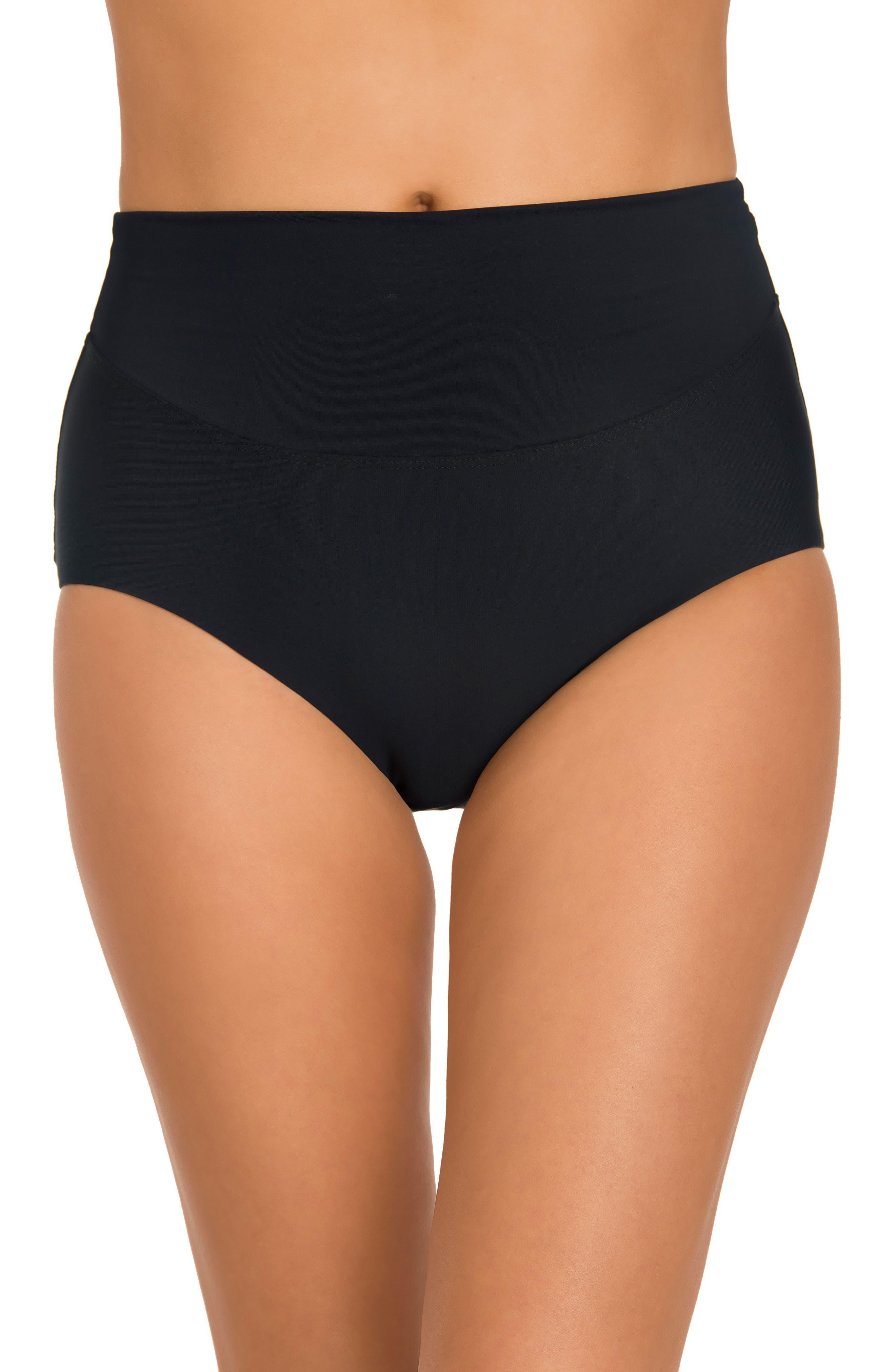 Main Image - Amoressa Martini High Waist Bikini Bottoms