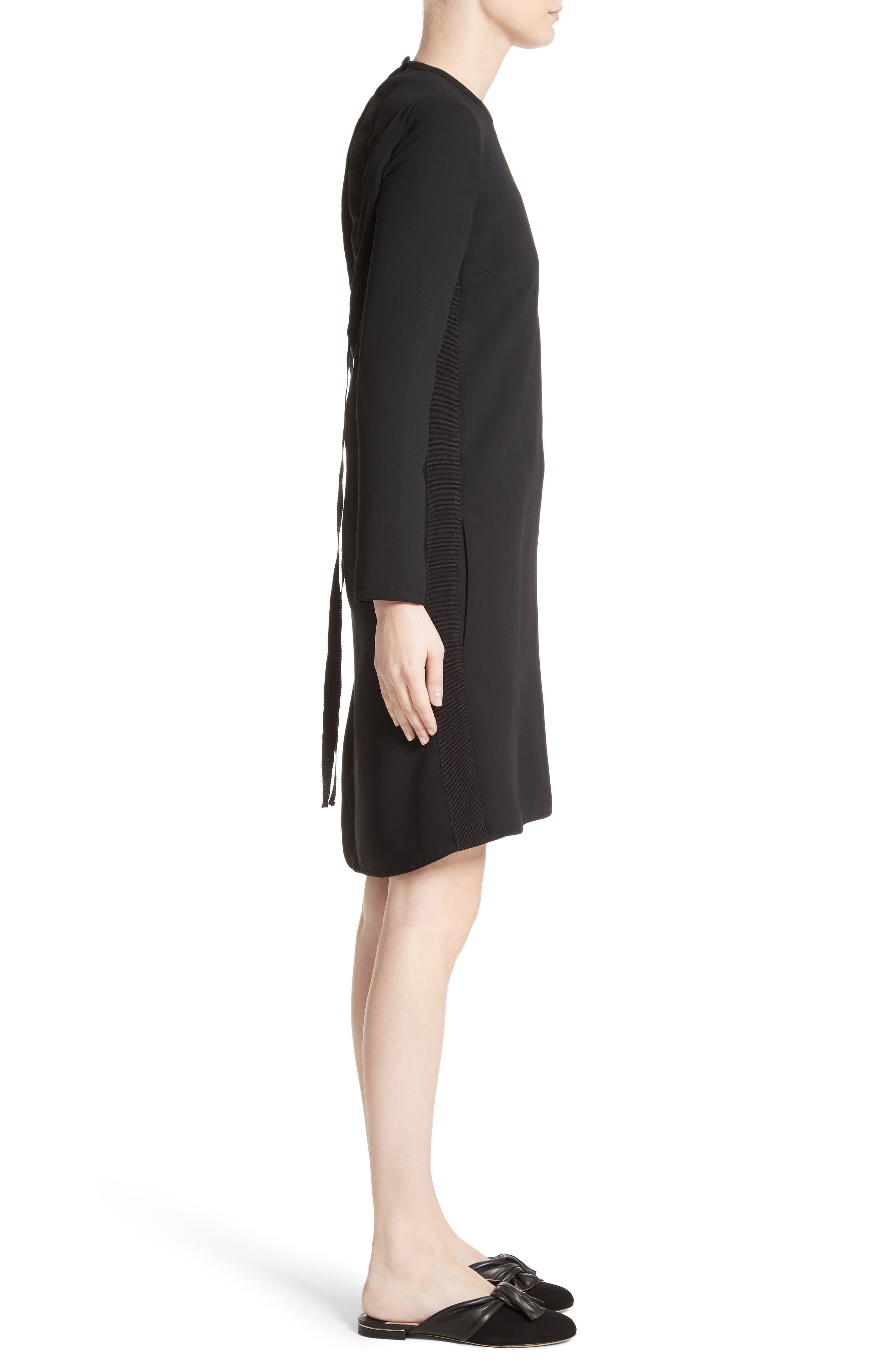 Alternate Image 3  - Victoria, Victoria Beckham Gathered Open Back Shift Dress