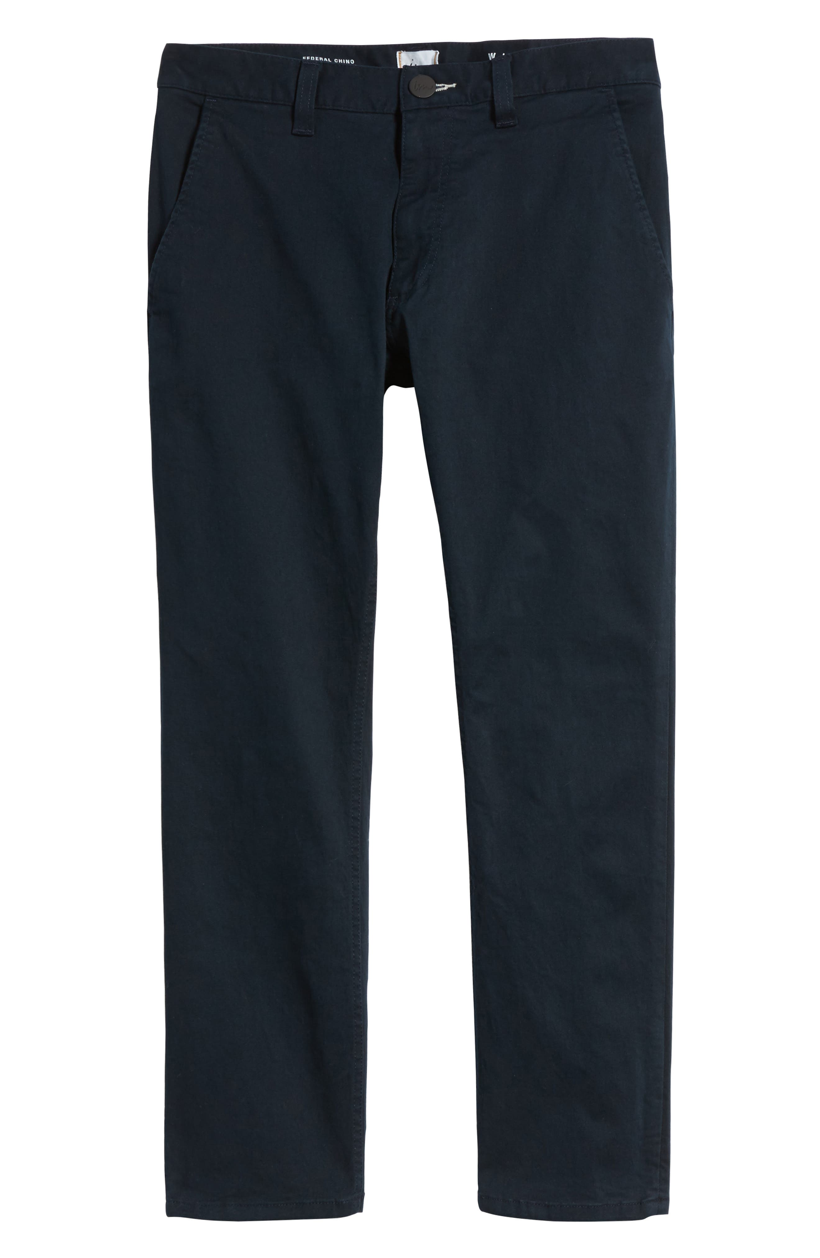 Alternate Image 6  - Imperial Motion Federal Cropped Chinos