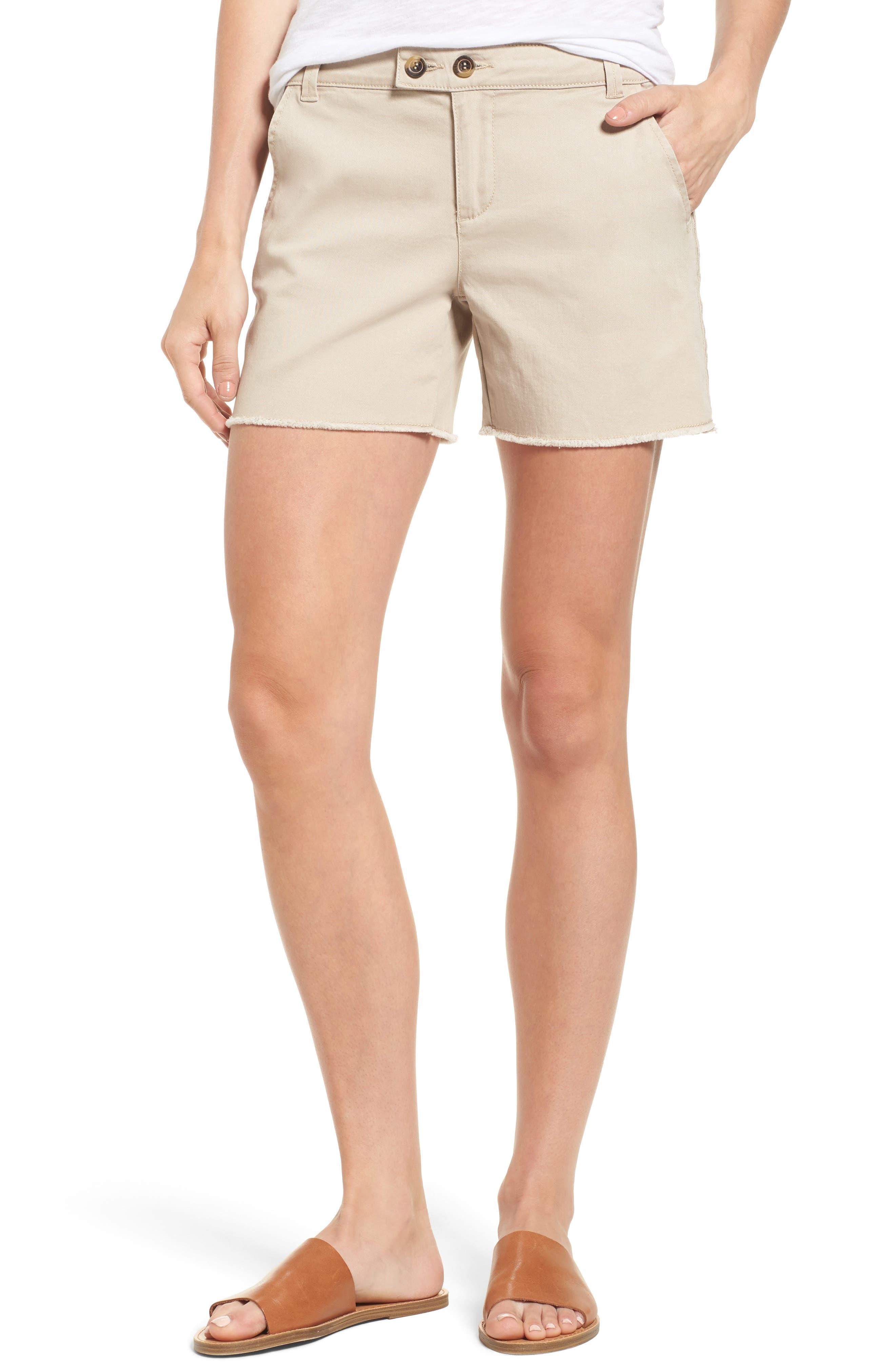 WIT & WISDOM Double Button Shorts