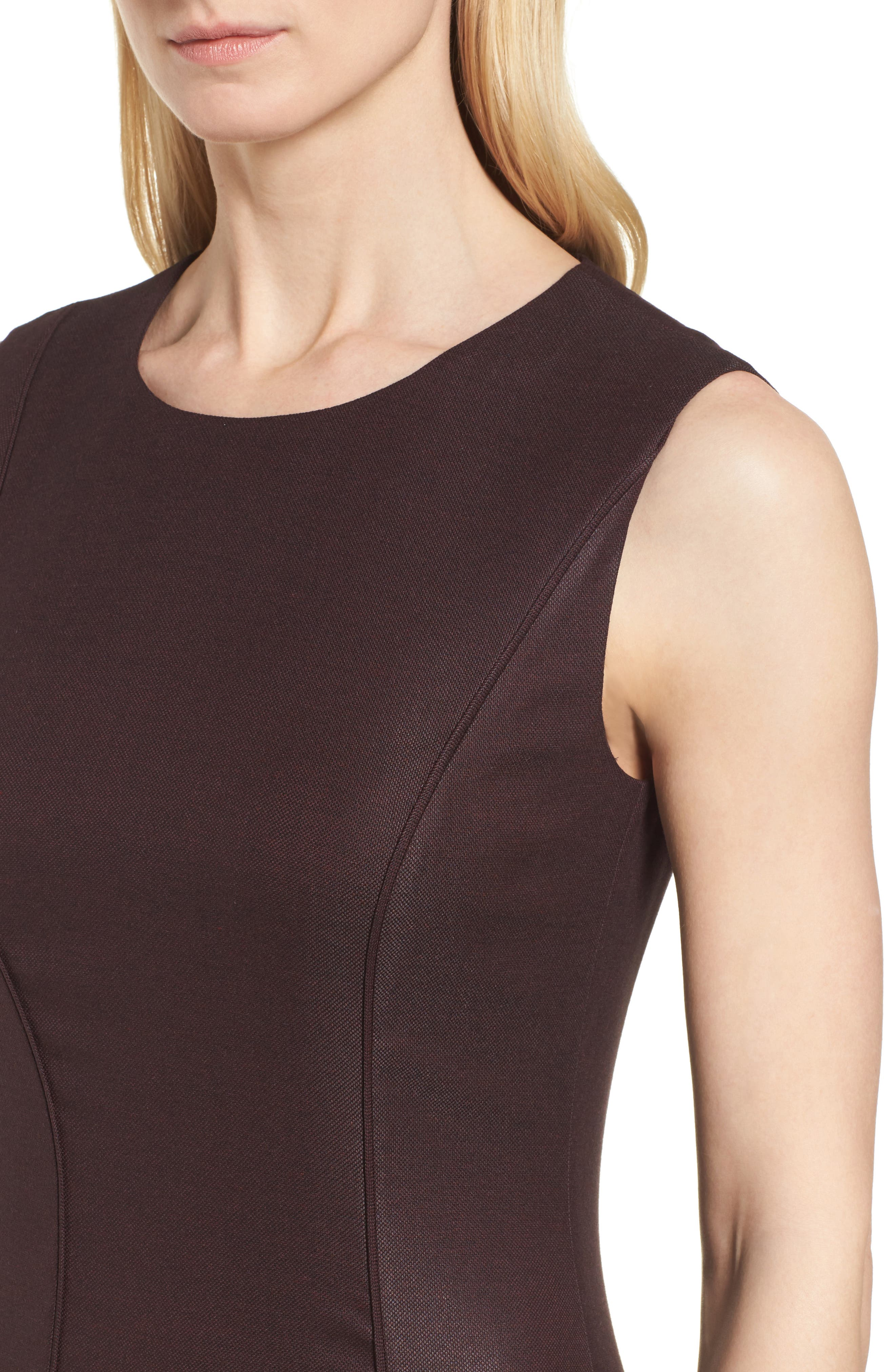 Alternate Image 5  - BOSS Denesa Sheath Dress