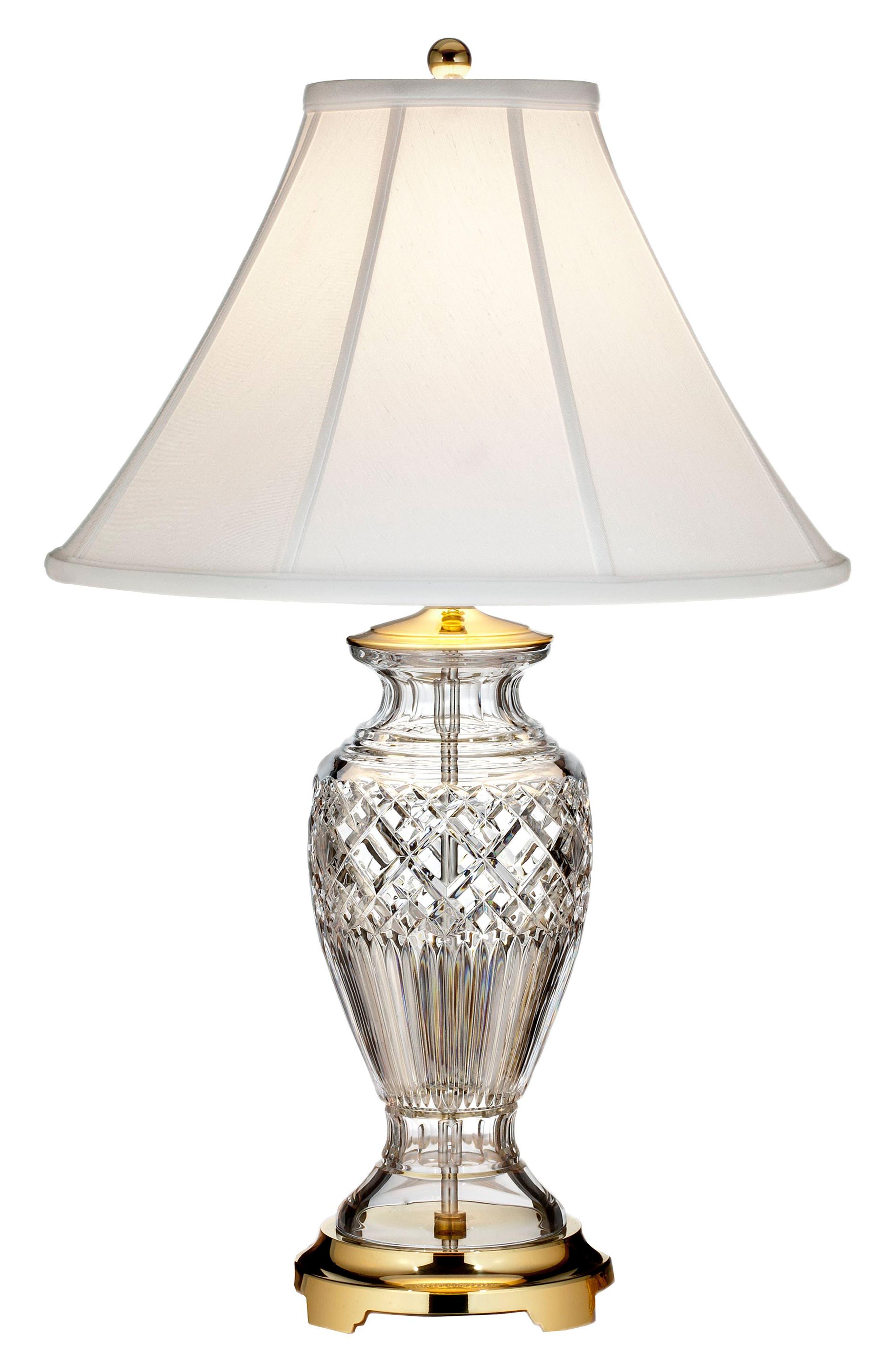 Kilmore Lead Crystal Table Lamp,                         Main,                         color, Crystal