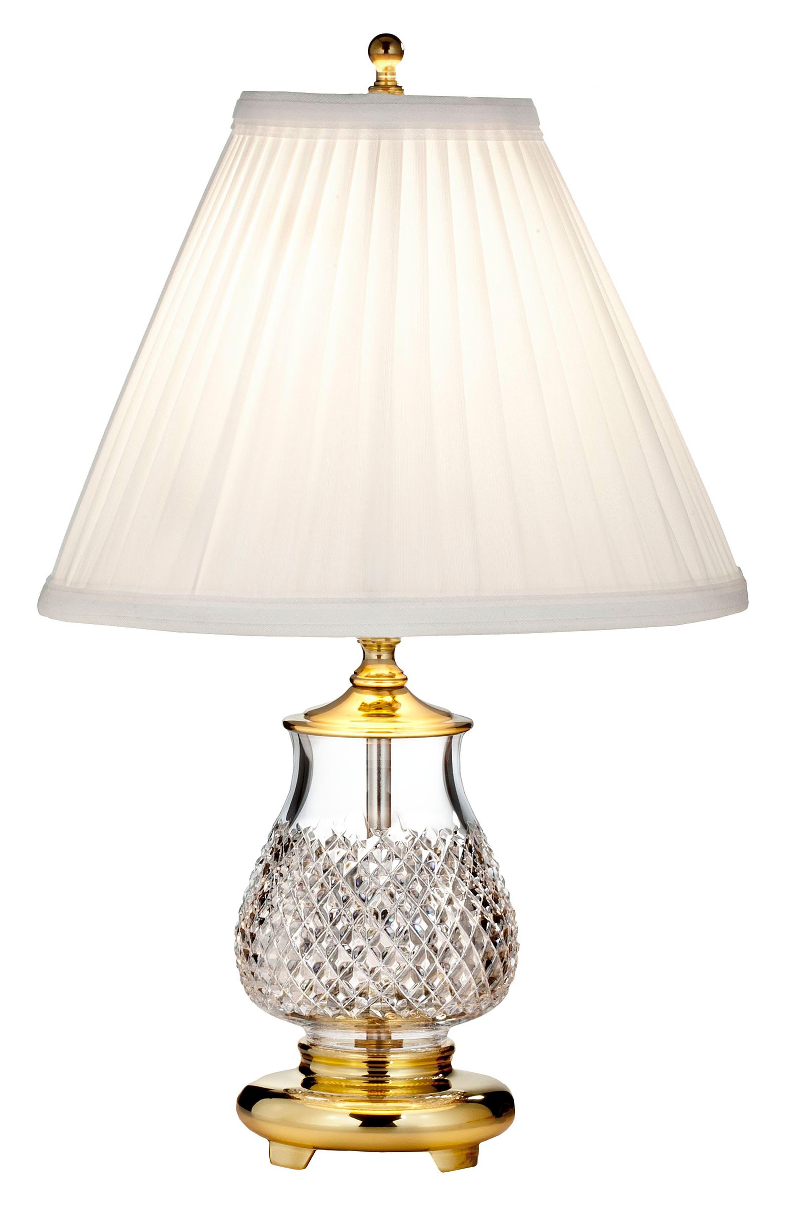 Main Image - Waterford Alana Crystal Table Lamp
