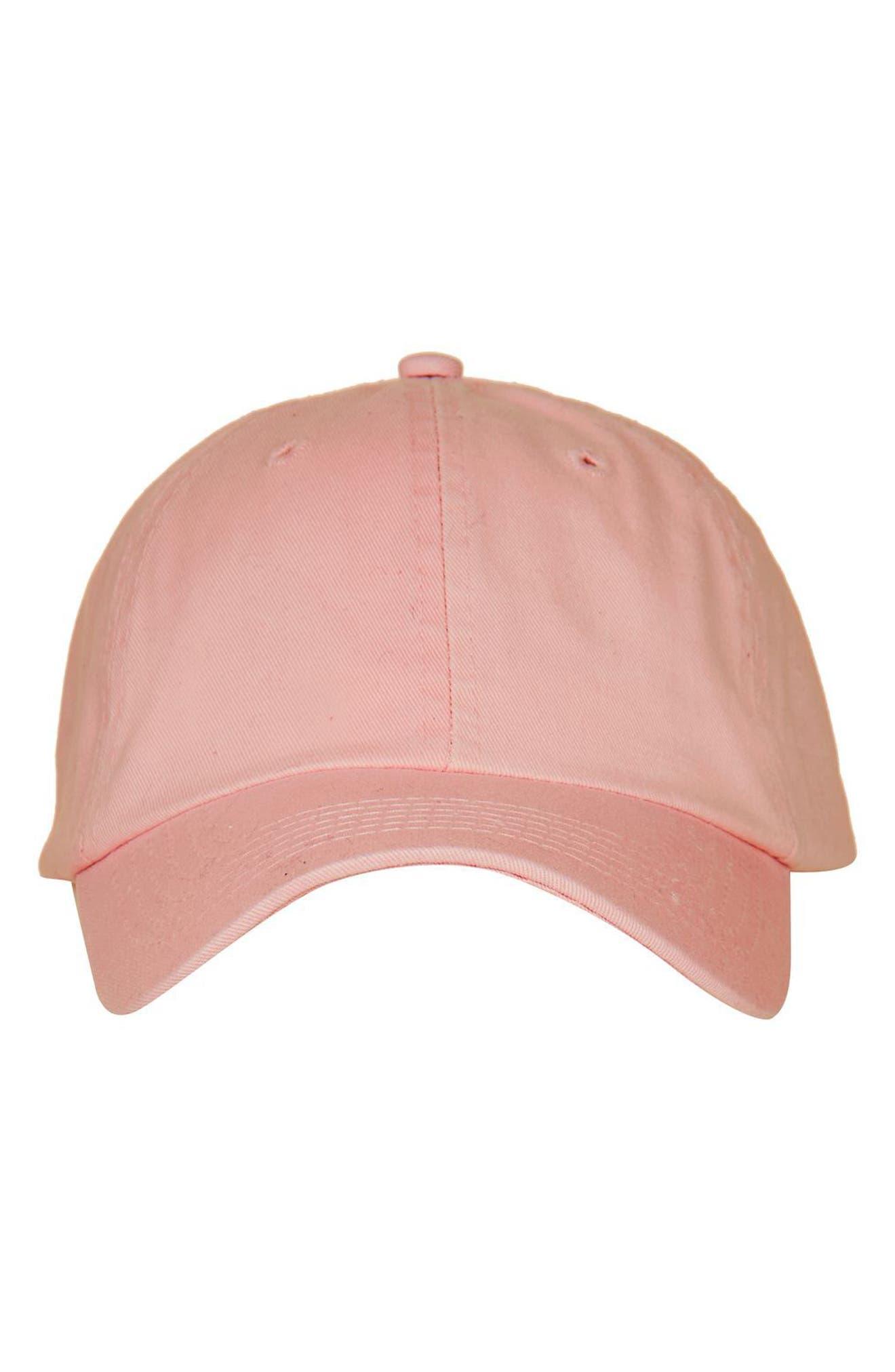 Alternate Image 2  - Topshop Washed Baseball Cap