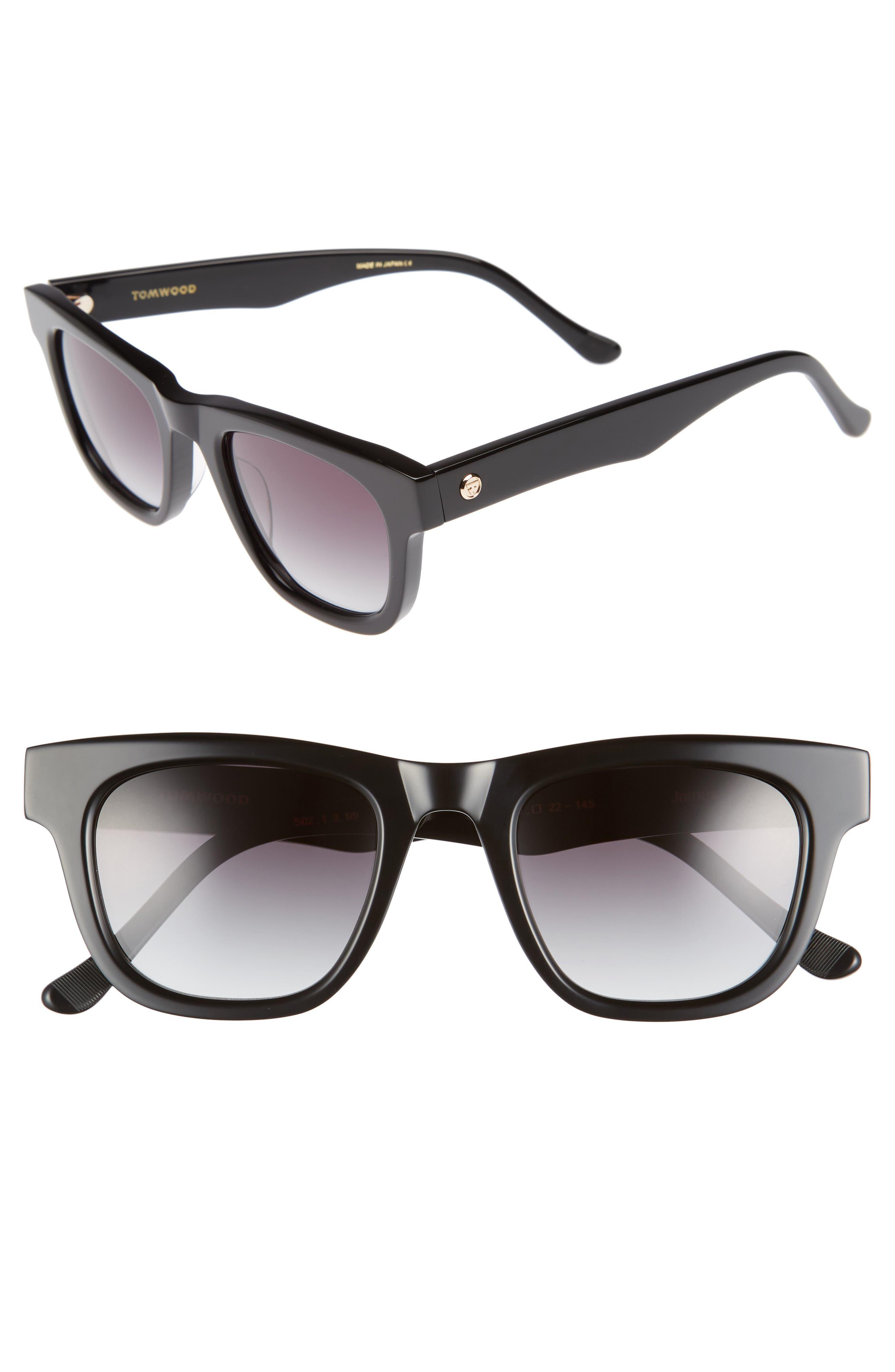 James Sunglasses,                             Main thumbnail 1, color,                             Black