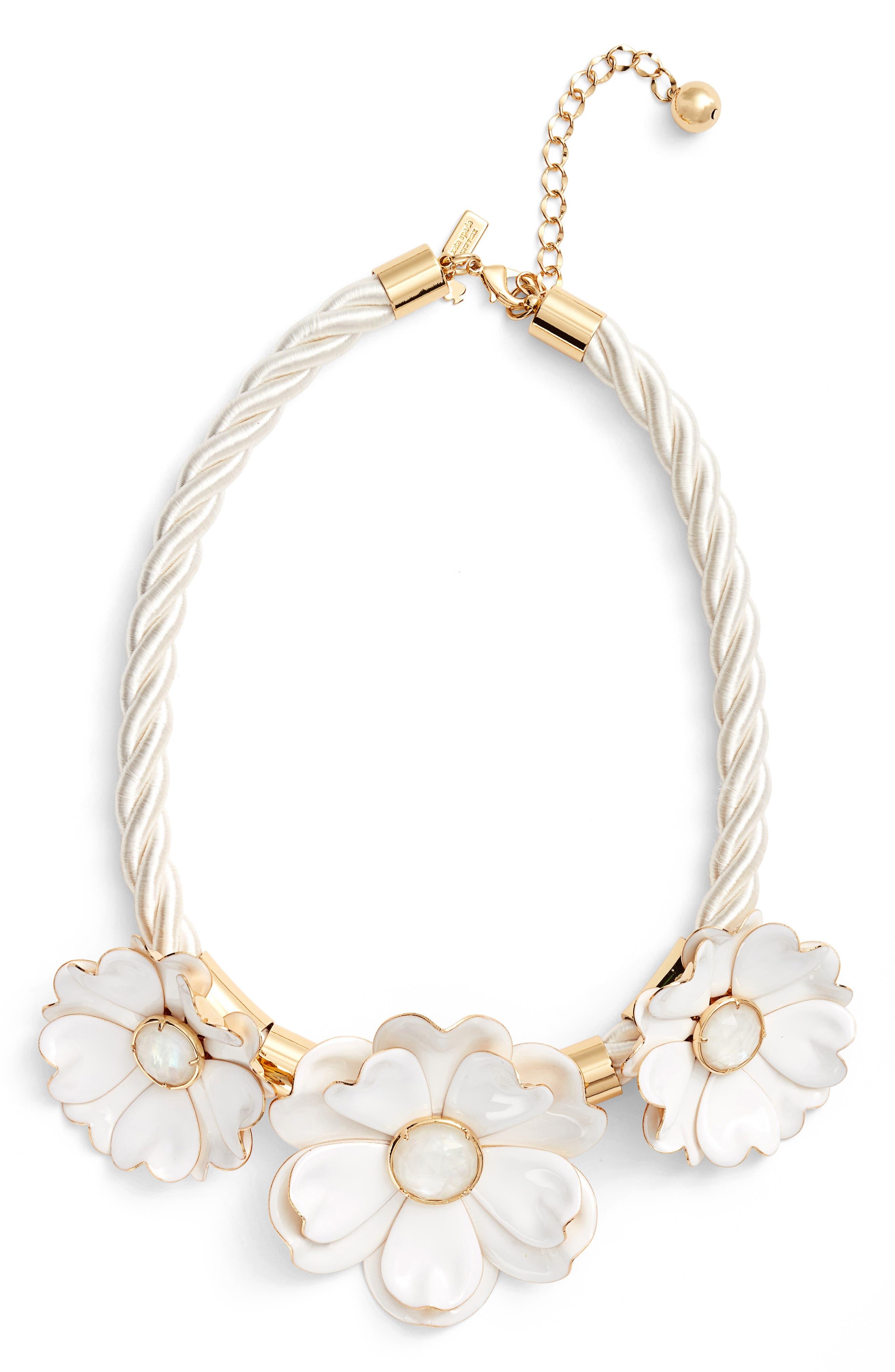 KATE SPADE NEW YORK bright blossom necklace