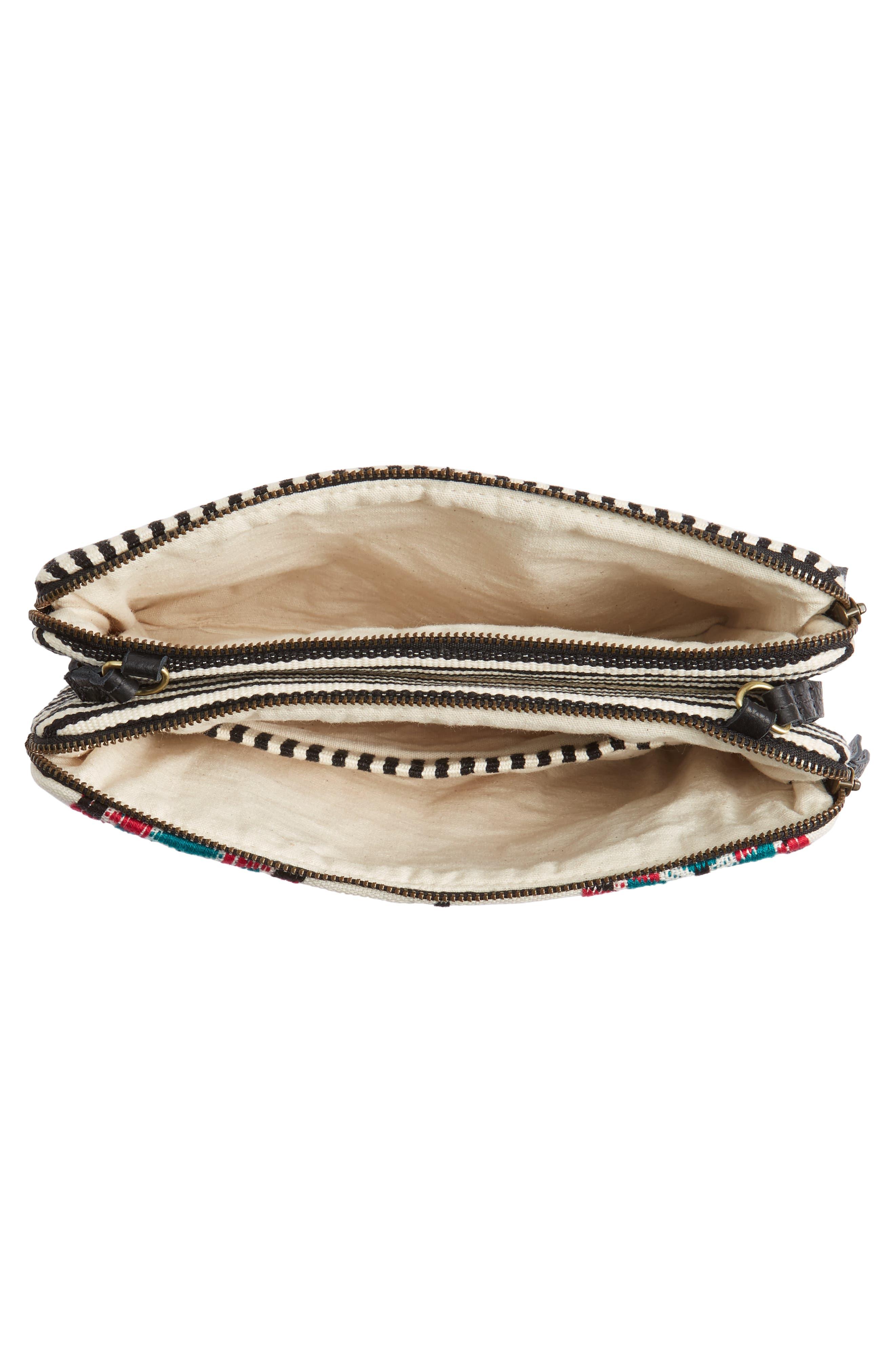 Alternate Image 5  - Mercado Global Andrea Canvas Crossbody Bag