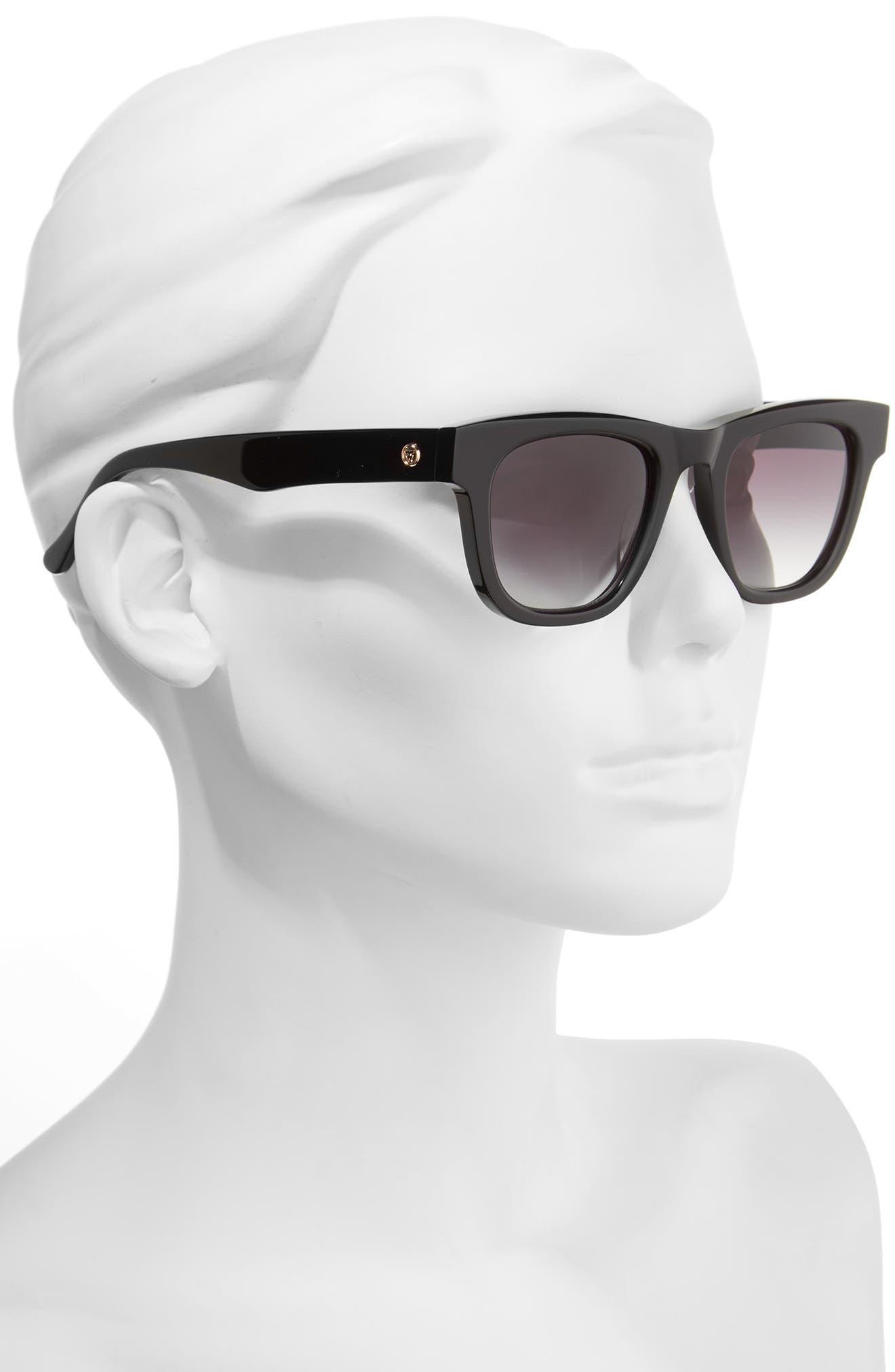 James Sunglasses,                             Alternate thumbnail 2, color,                             Black