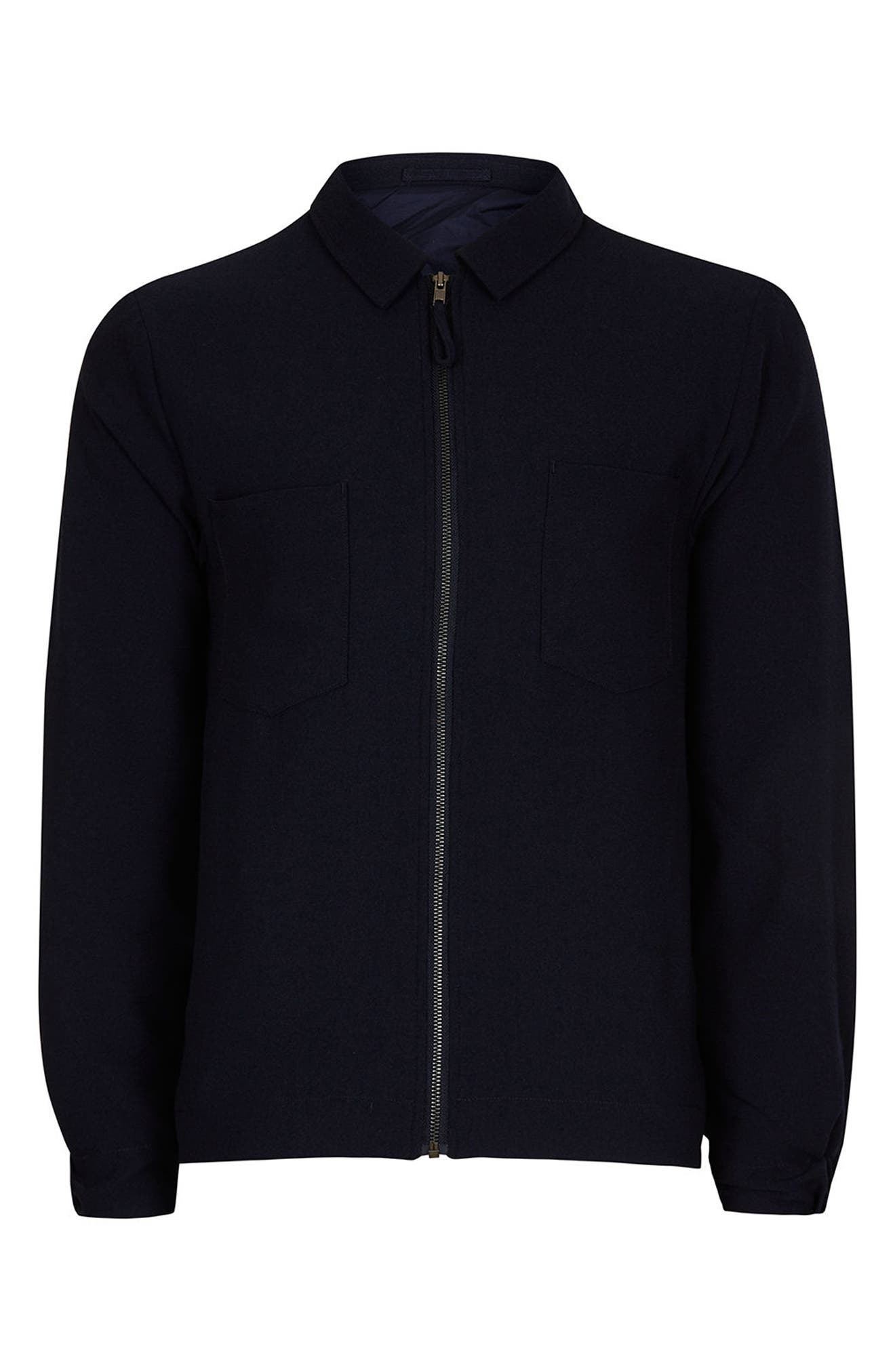 Lightweight Smart Jacket,                             Alternate thumbnail 6, color,                             Navy Blue