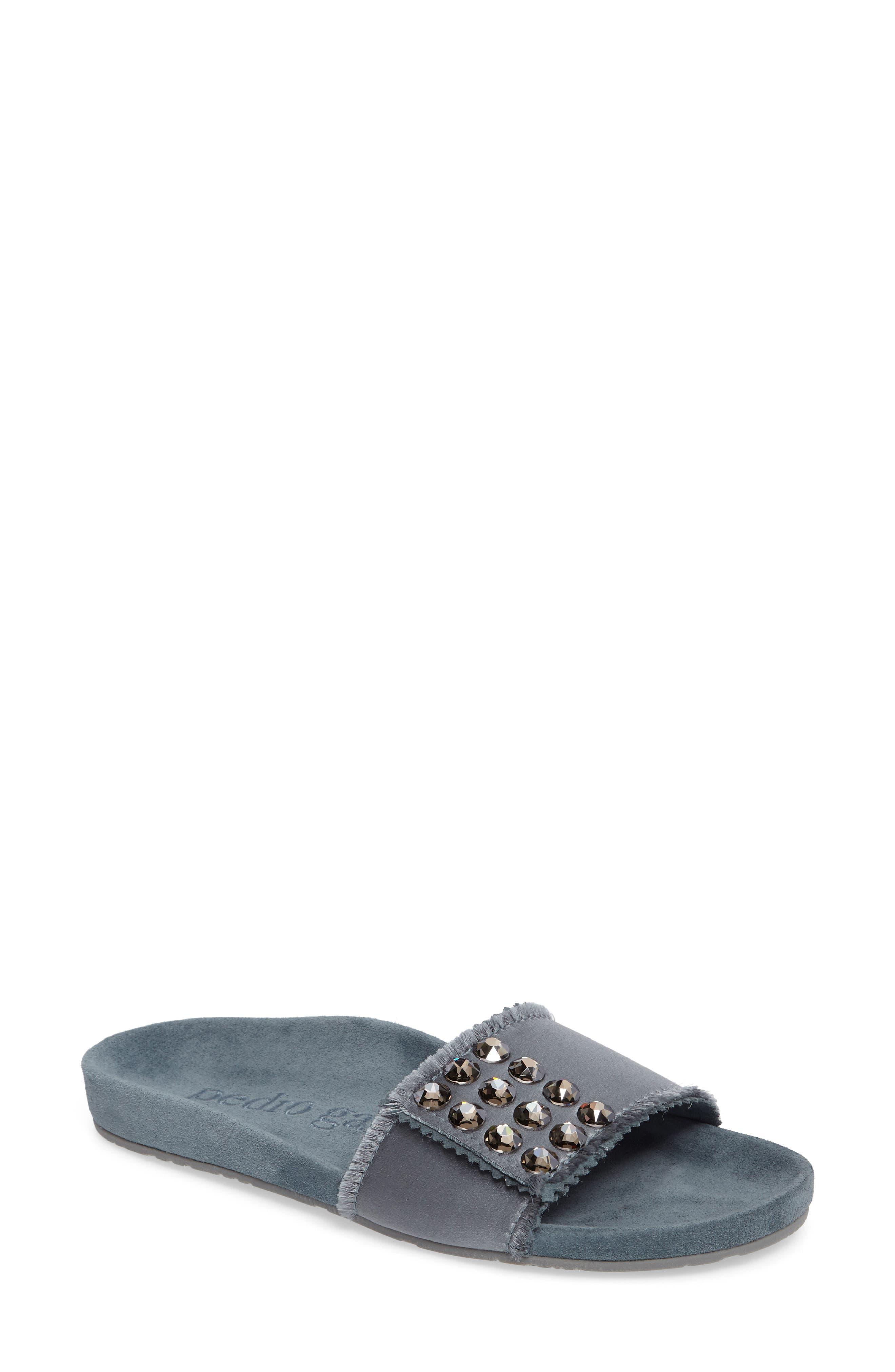 Pedro Garcia Arabella Crystal Slide Sandal (Women)