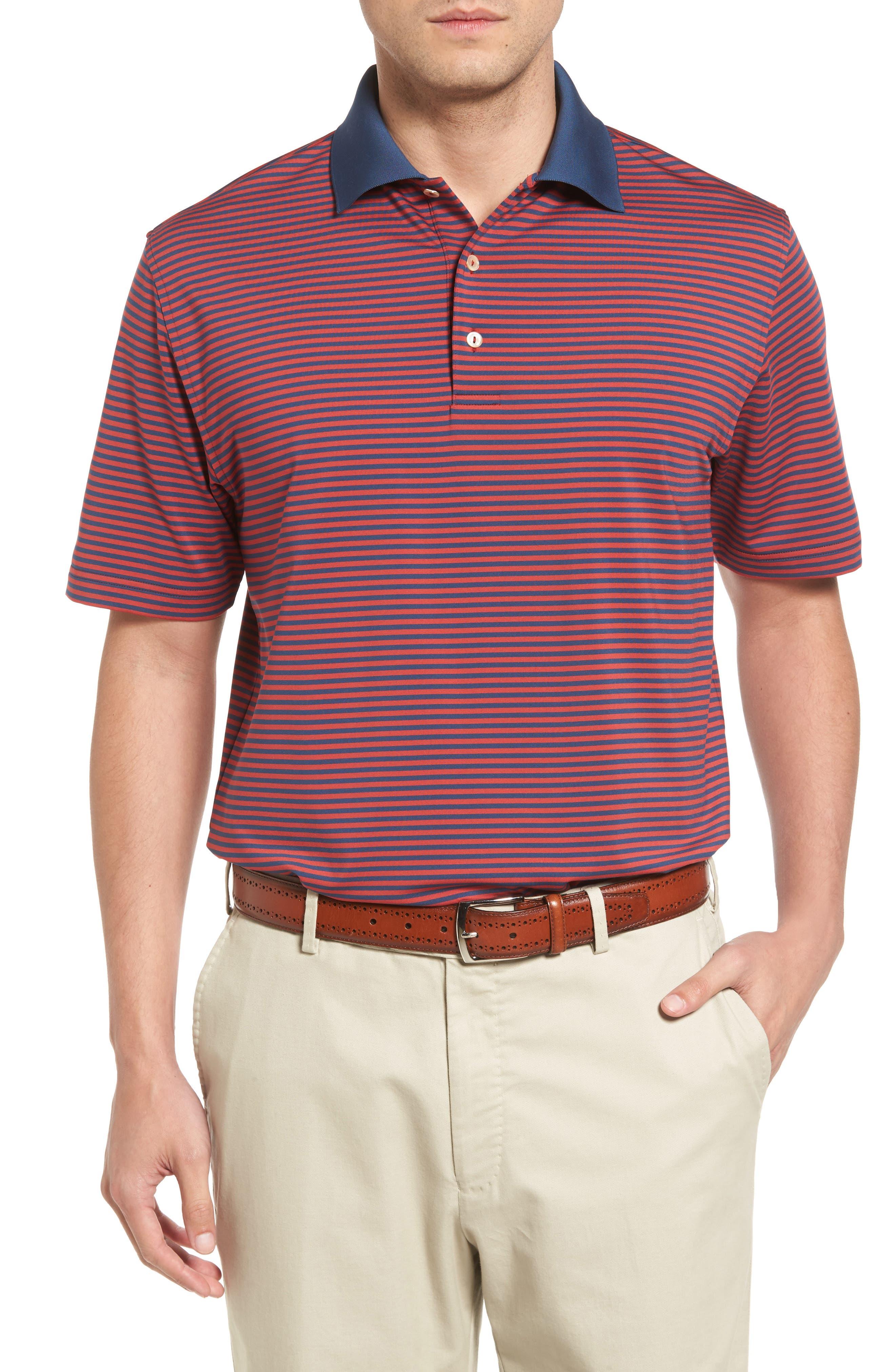 Peter Millar Bedlington Stripe Jersey Polo
