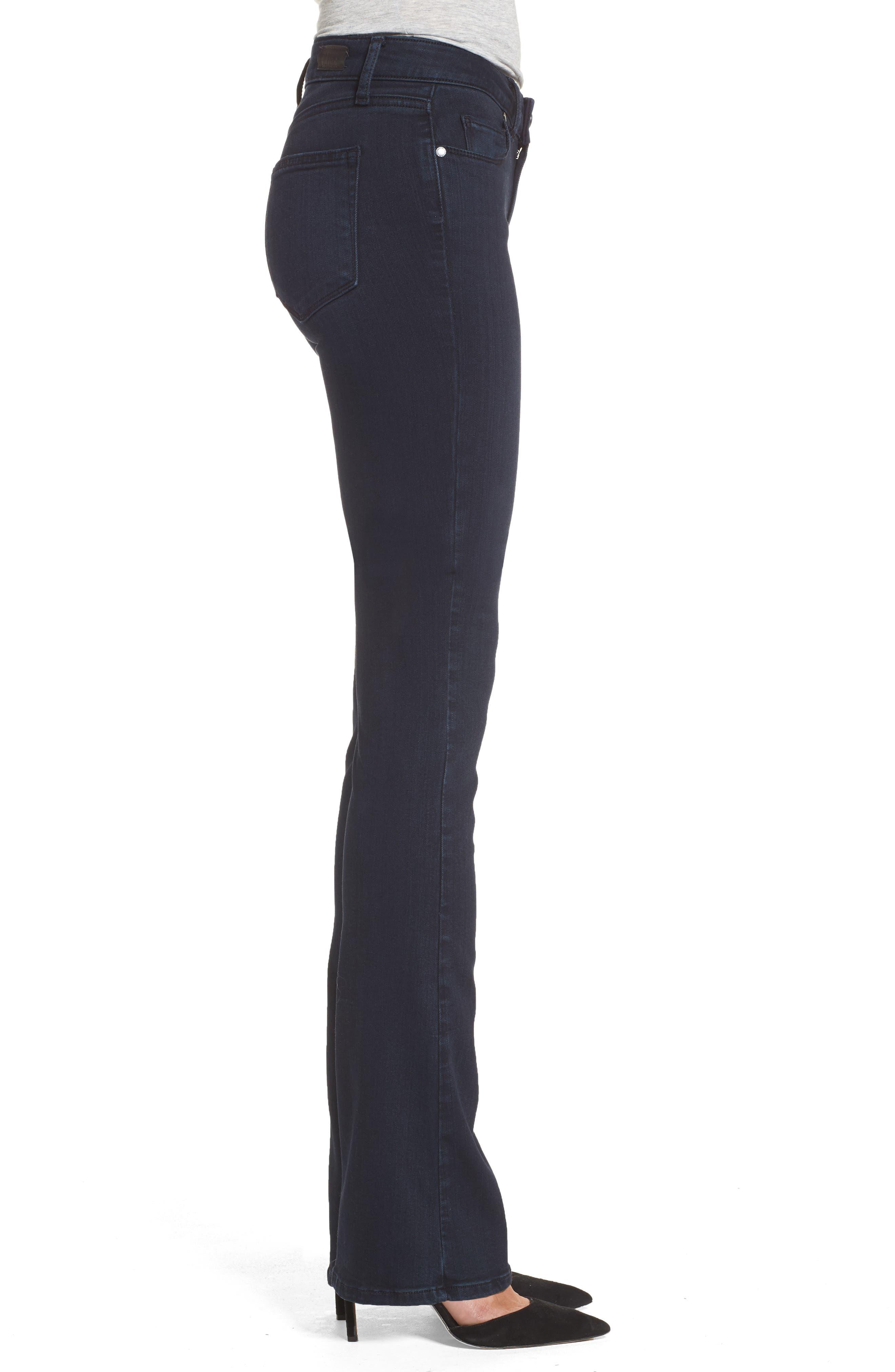 Alternate Image 3  - PAIGE Manhattan High Waist Bootcut Jeans (Brighton)